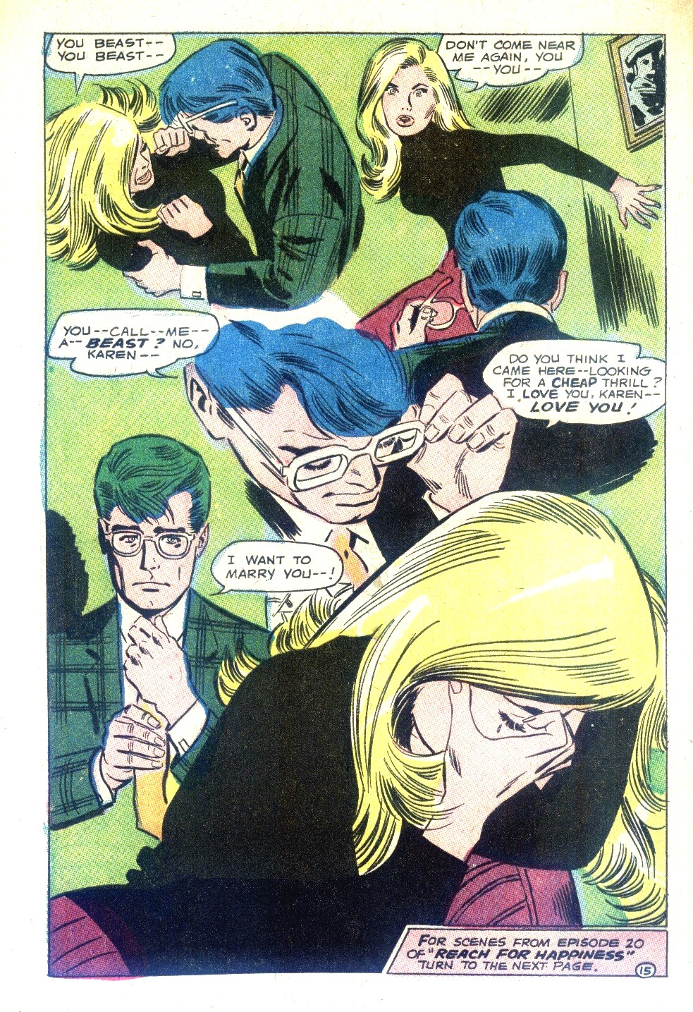 Read online Secret Hearts comic -  Issue #128 - 32