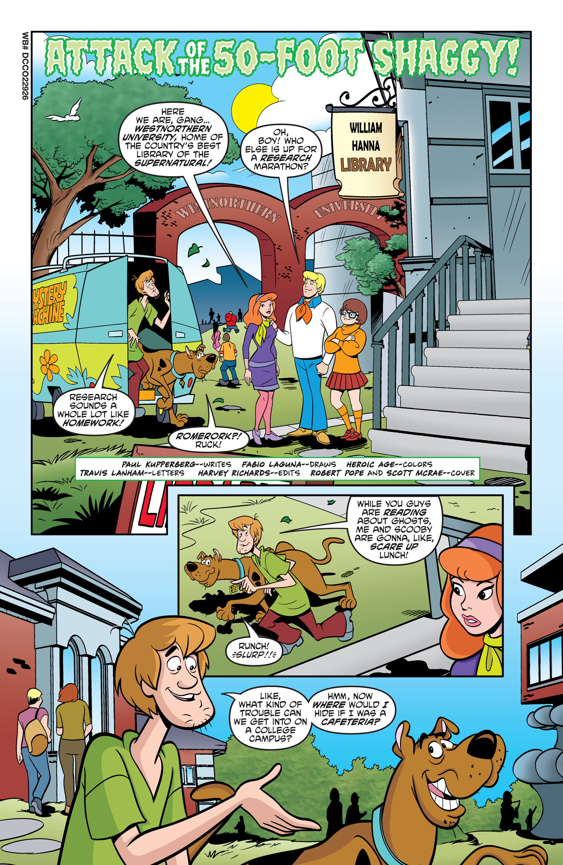 Read online Scooby-Doo: Where Are You? comic -  Issue #49 - 12