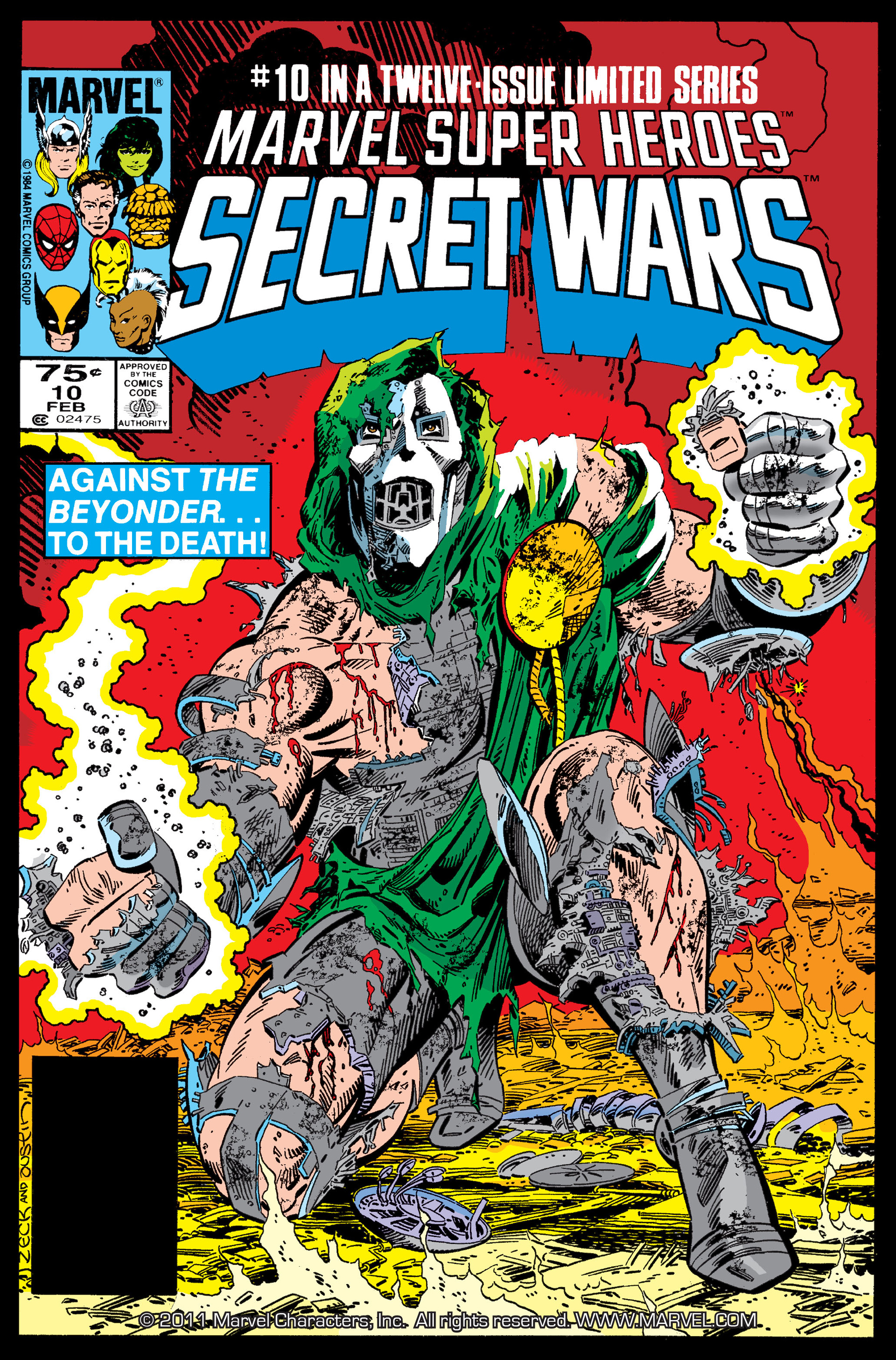 Secret Wars (1985) issue 10 - Page 1