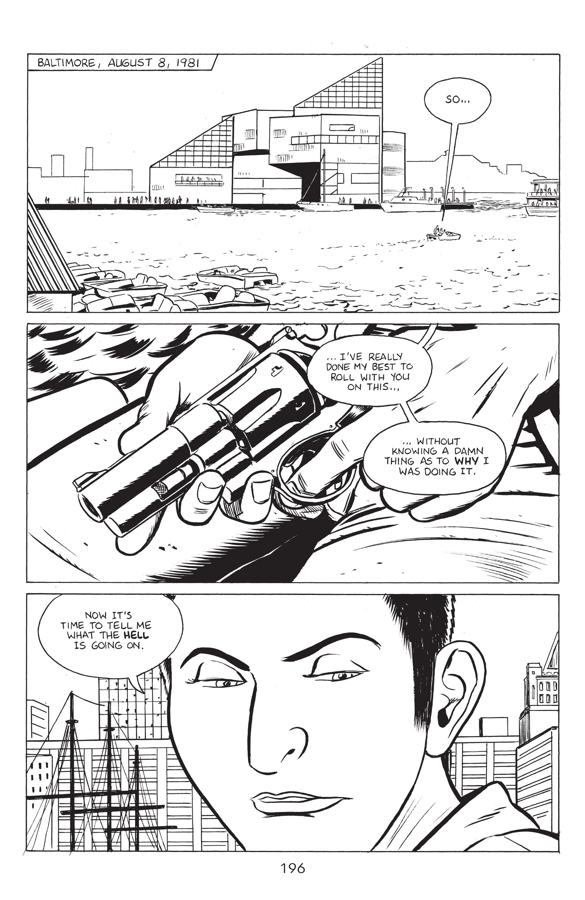 Read online Stray Bullets: Sunshine & Roses comic -  Issue #8 - 2