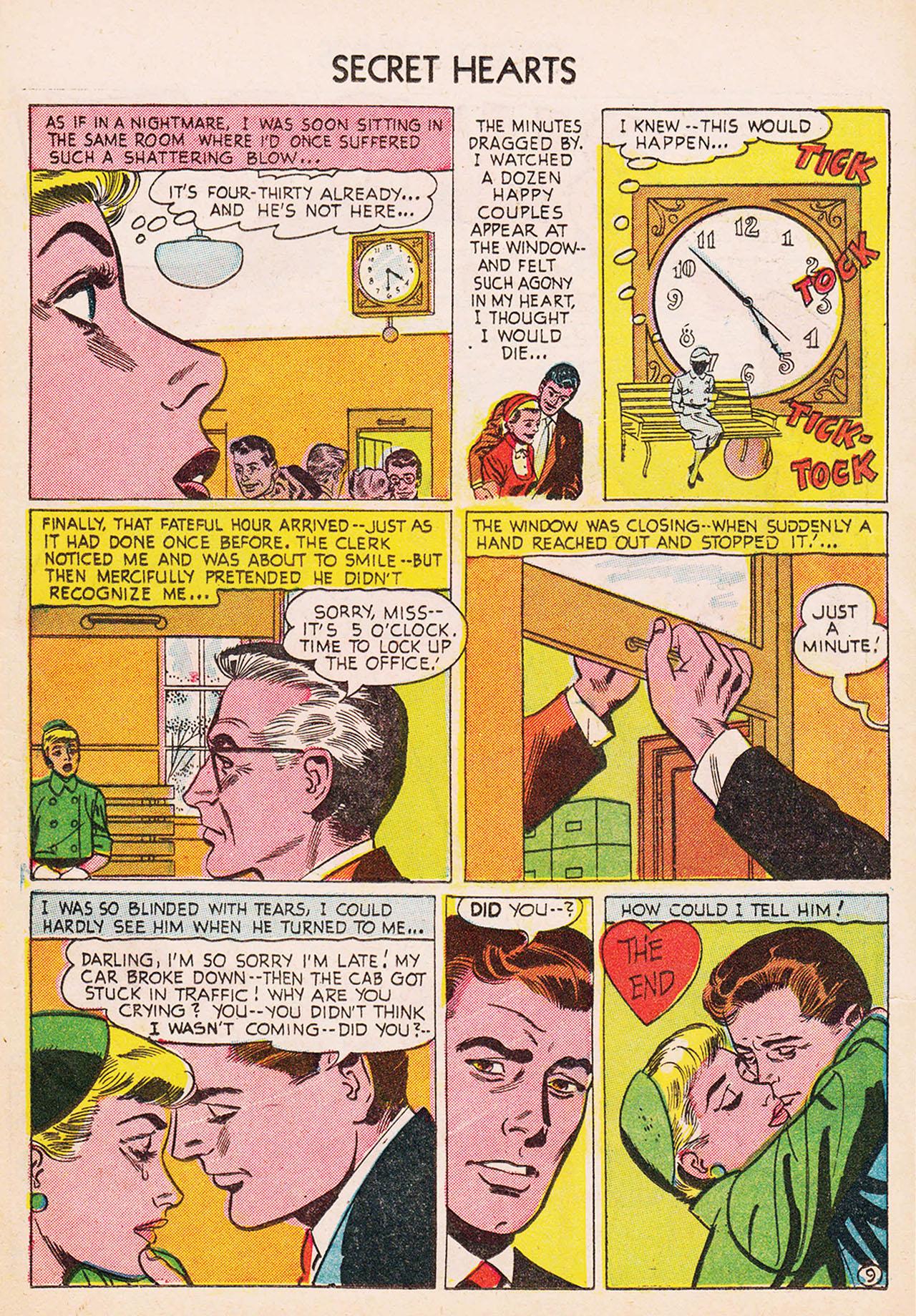 Read online Secret Hearts comic -  Issue #24 - 11