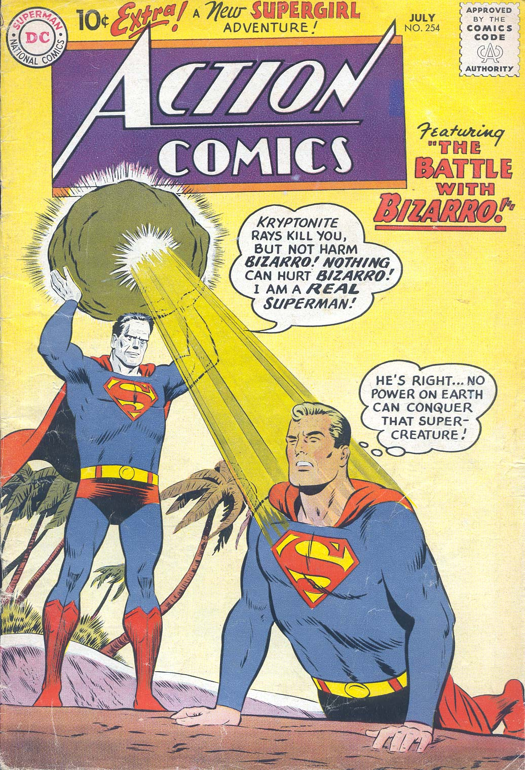 Action Comics (1938) 254 Page 1