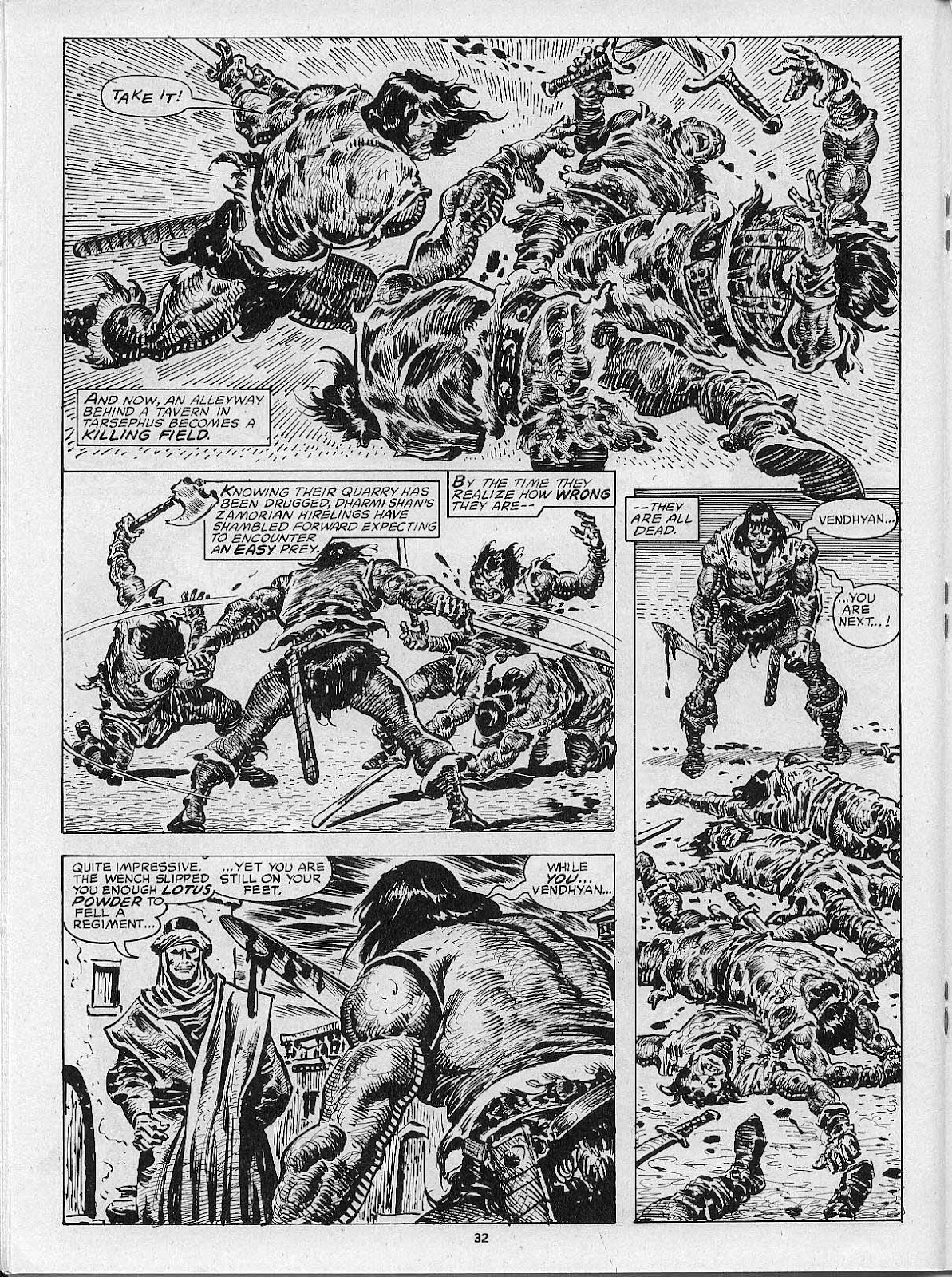 The Savage Sword Of Conan Issue #200 #201 - English 34