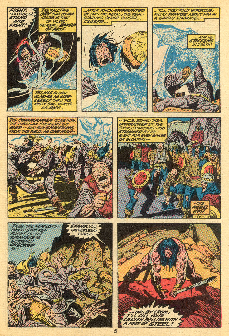 Conan the Barbarian (1970) Issue #30 #42 - English 5
