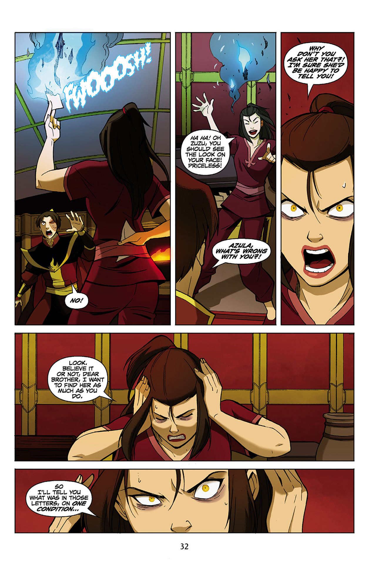Read online Nickelodeon Avatar: The Last Airbender - The Search comic -  Issue # Part 1 - 33