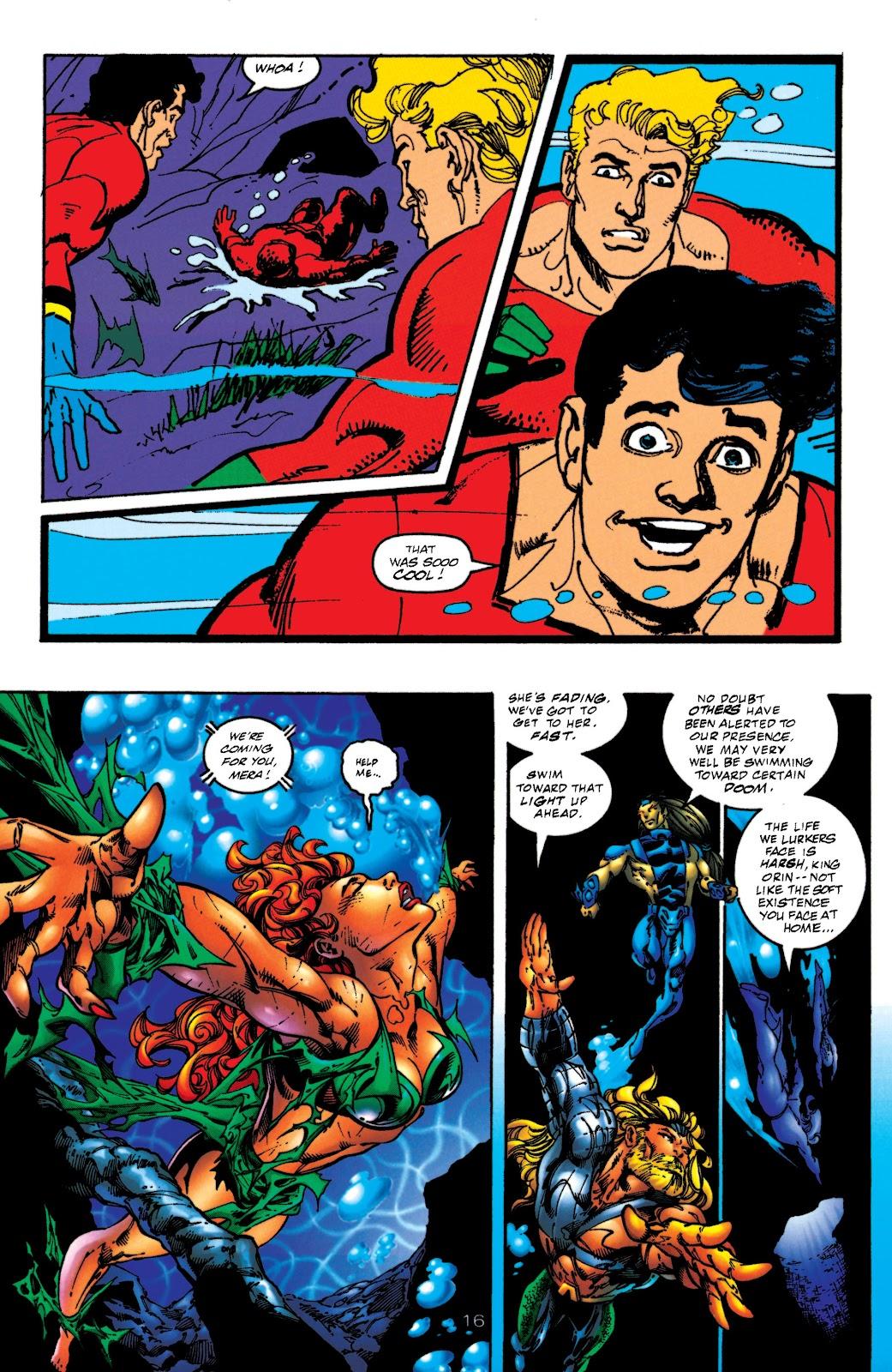 Aquaman (1994) Issue #52 #58 - English 16