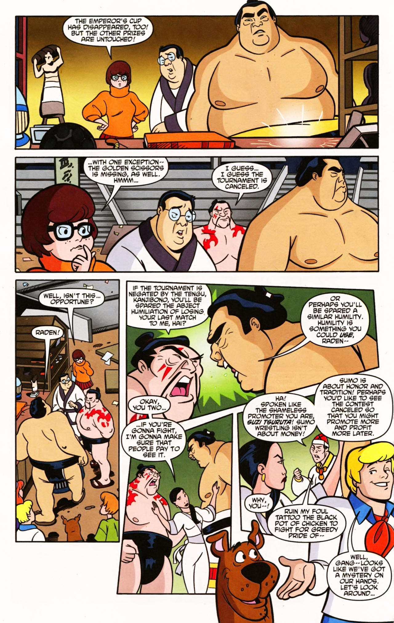 Read online Scooby-Doo (1997) comic -  Issue #148 - 8