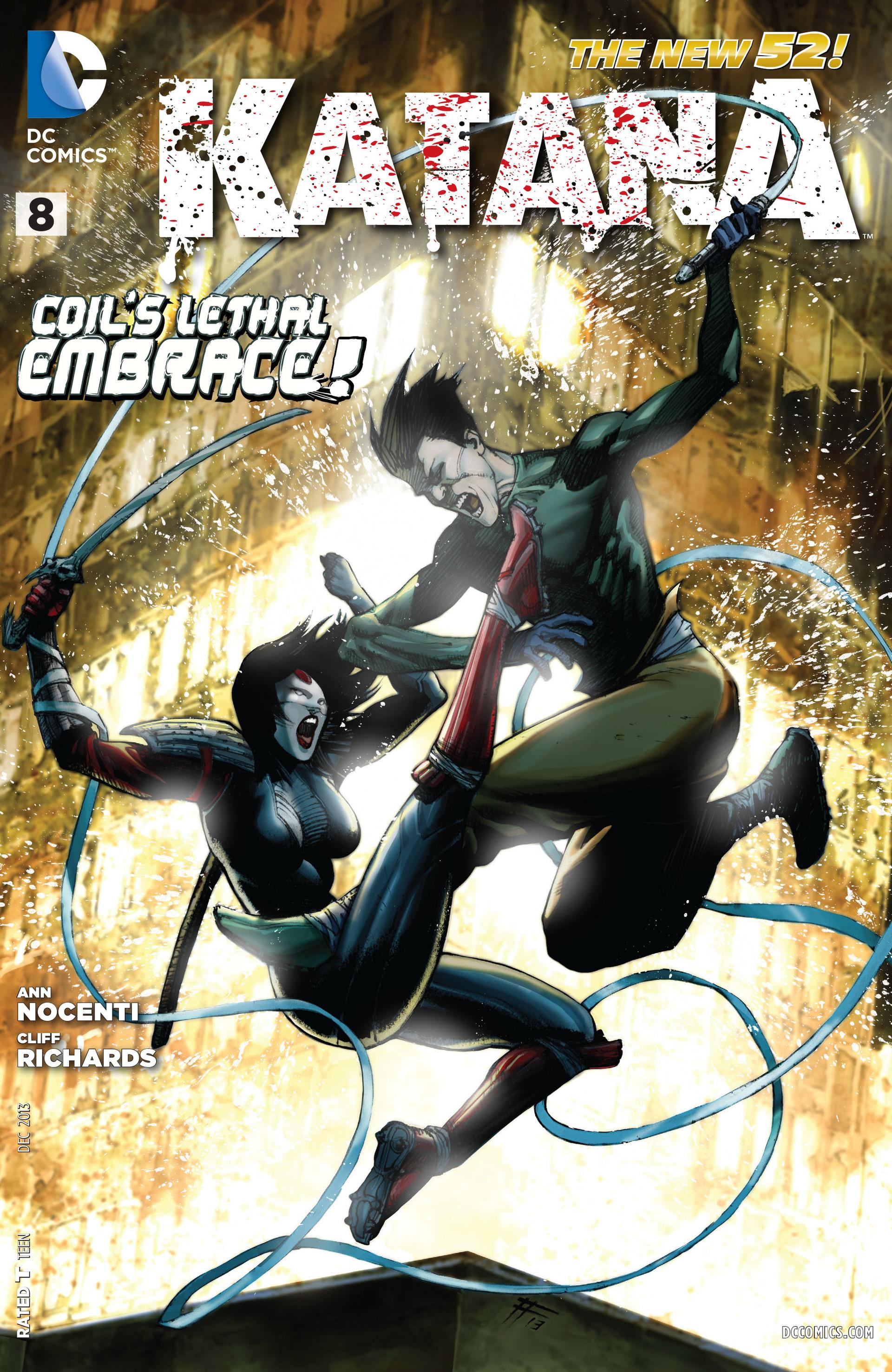 Read online Katana comic -  Issue #8 - 1