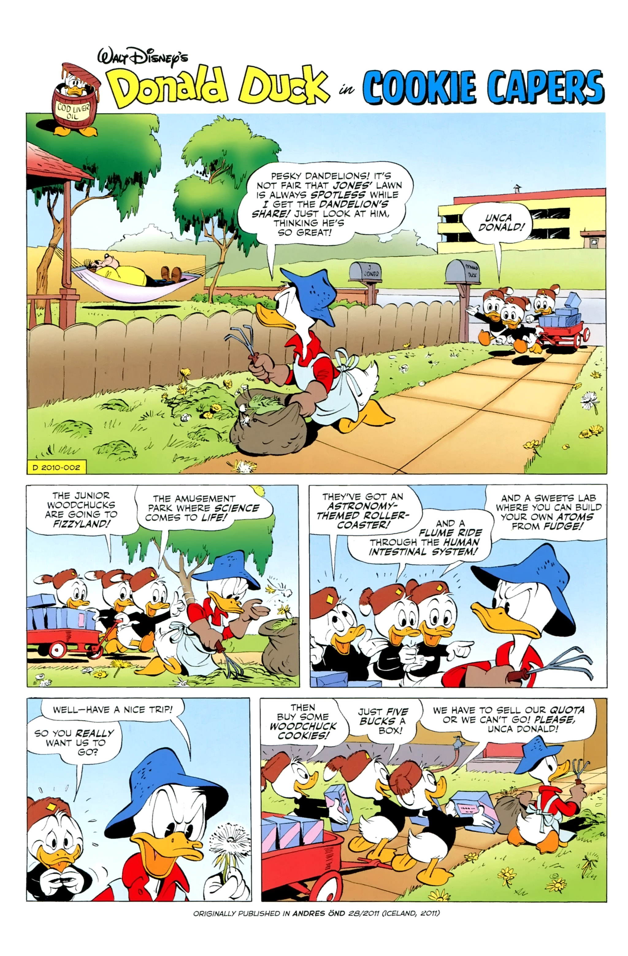 Read online Donald Duck (2015) comic -  Issue #14 - 33