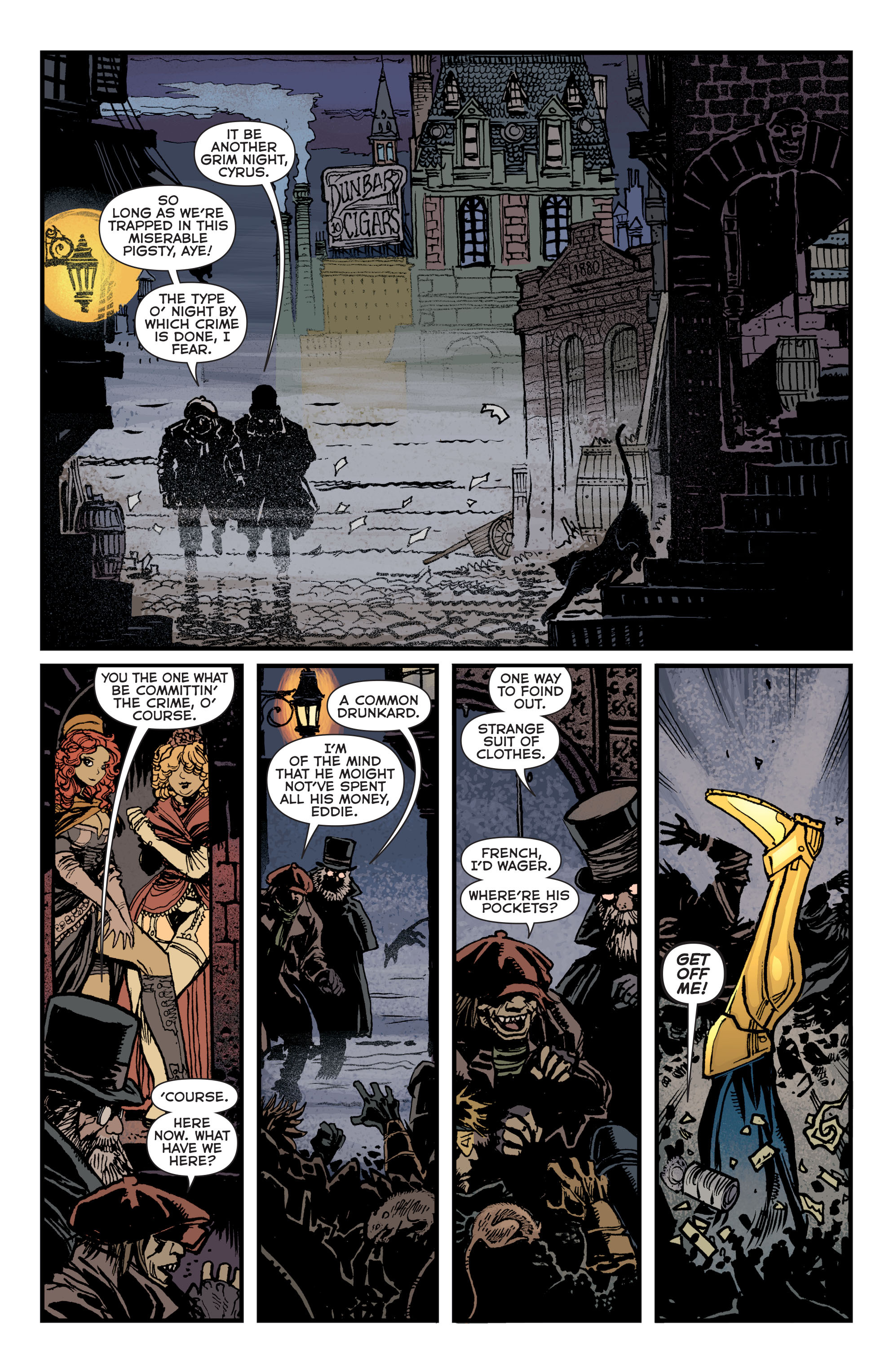 Read online Booster Gold: Futures End comic -  Issue # Full - 2