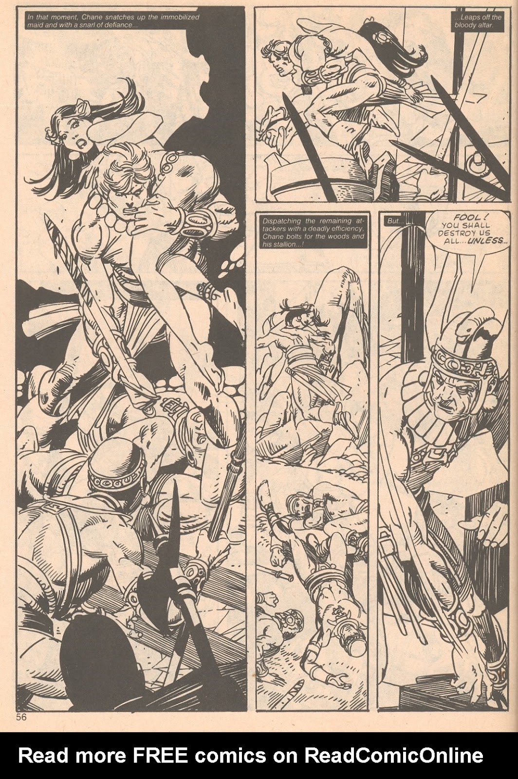 The Savage Sword Of Conan Issue #63 #64 - English 56