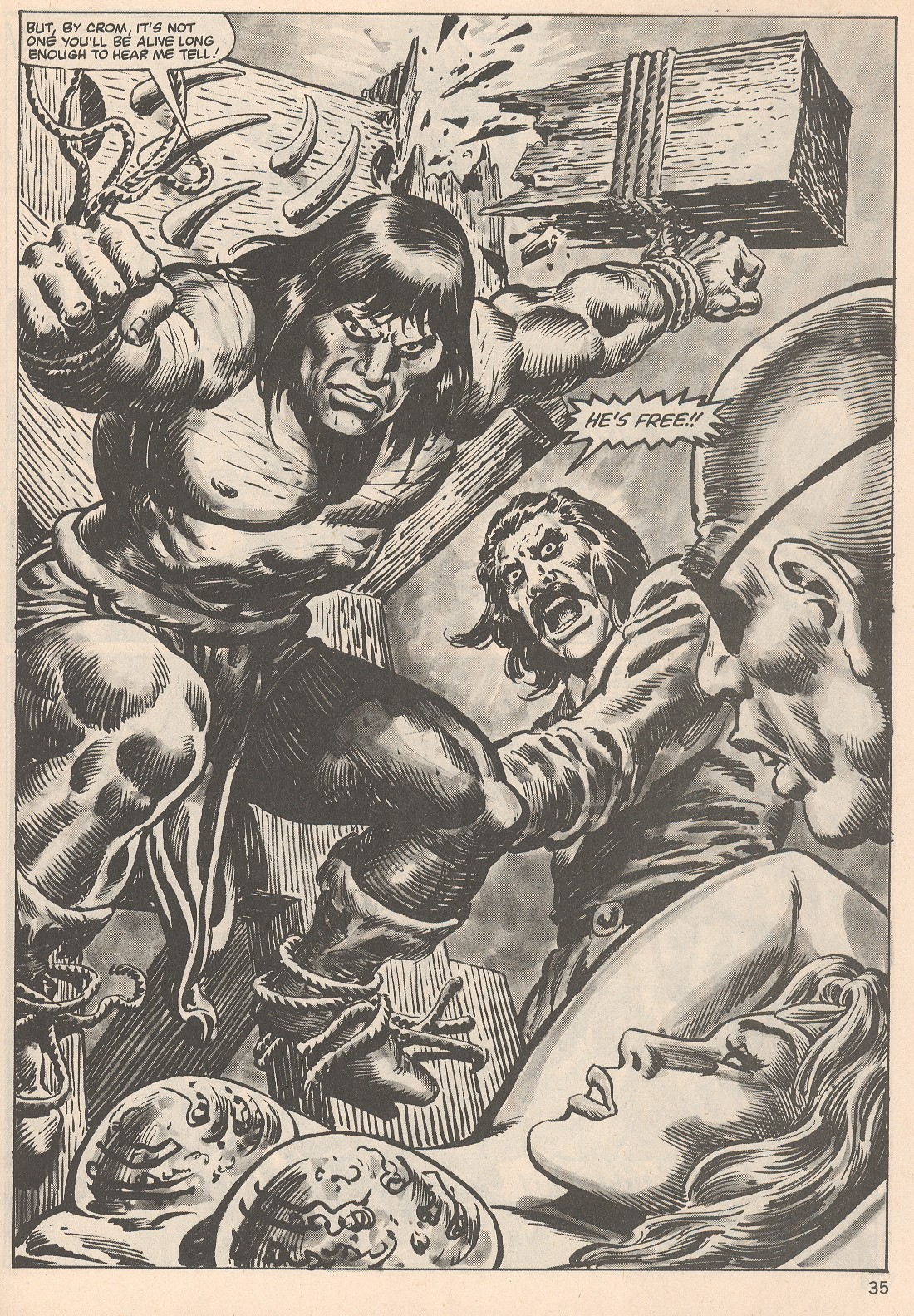 The Savage Sword Of Conan Issue #104 #105 - English 35