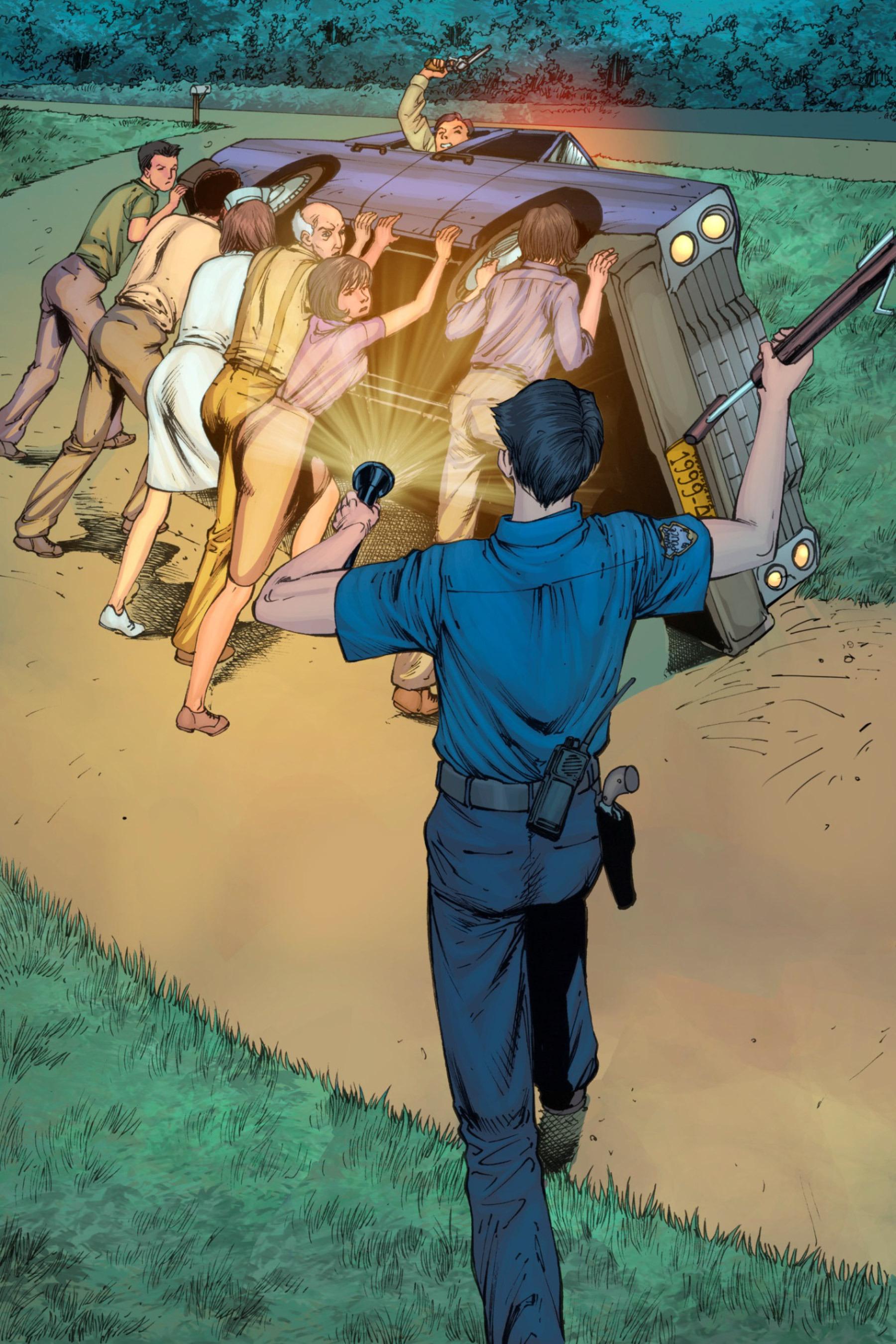 Read online Z-Men comic -  Issue #3 - 121