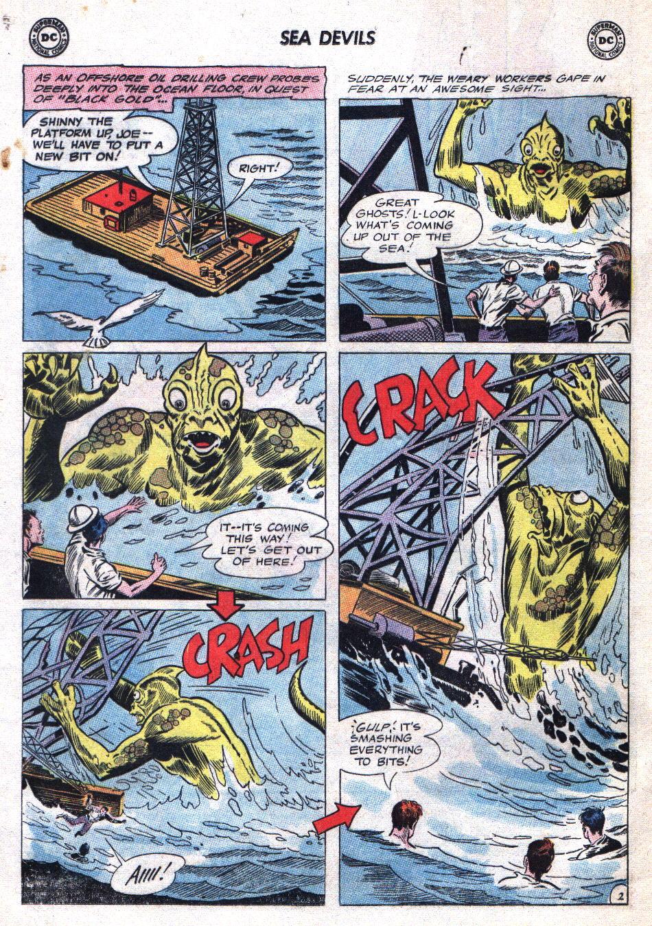 Read online Sea Devils comic -  Issue #20 - 4