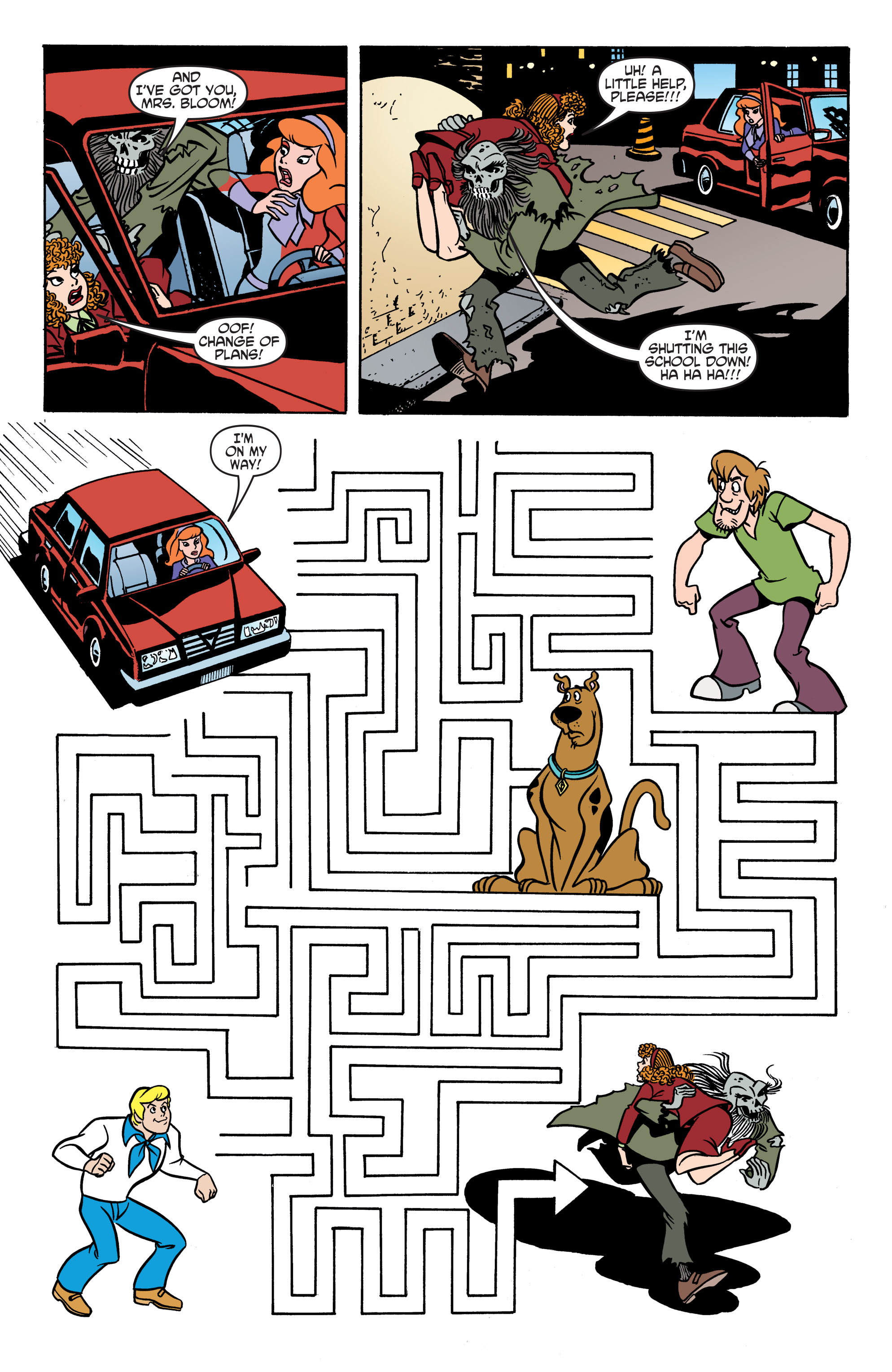 Read online Scooby-Doo: Where Are You? comic -  Issue #70 - 16