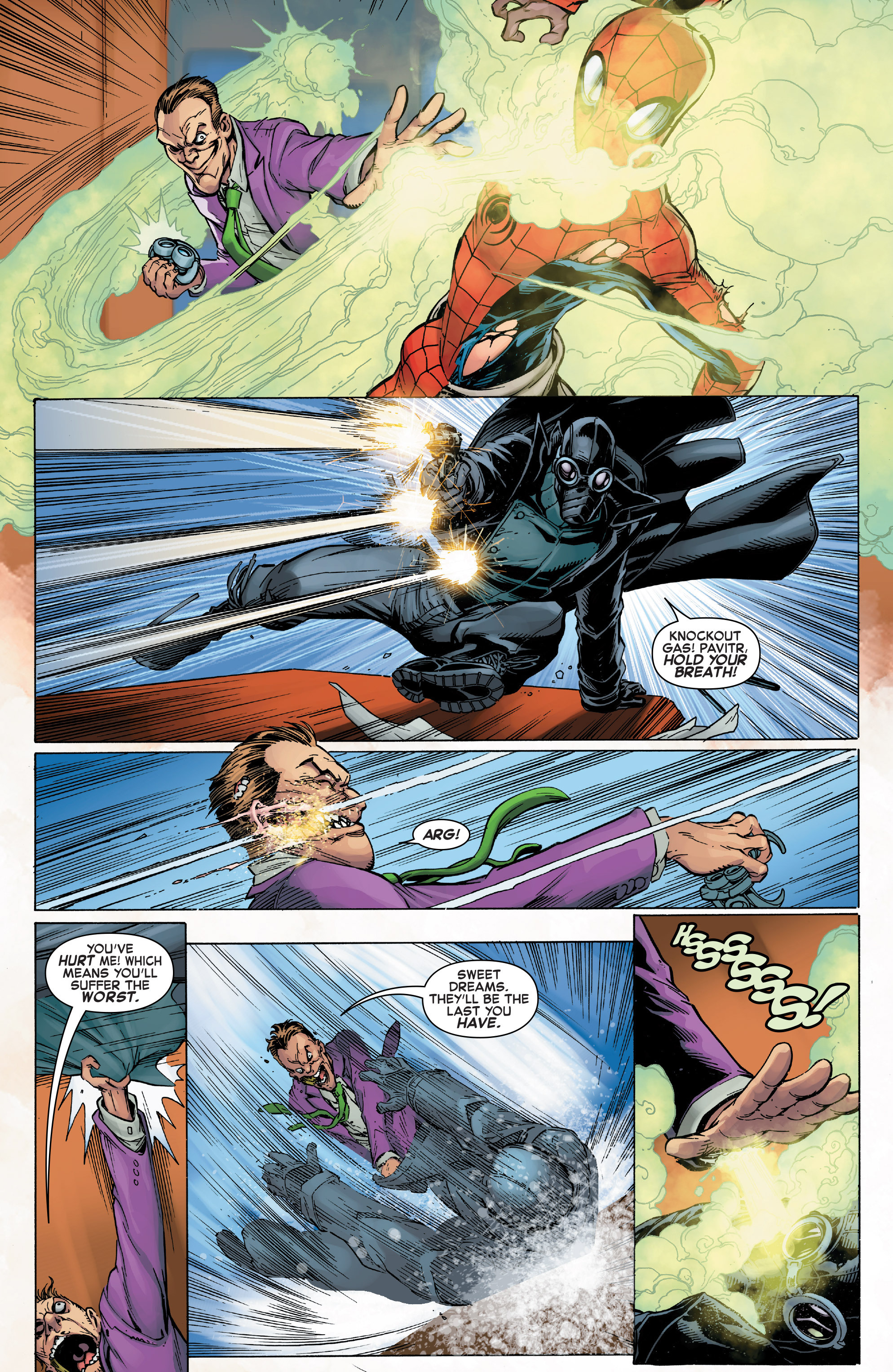 Read online Web Warriors comic -  Issue #10 - 13