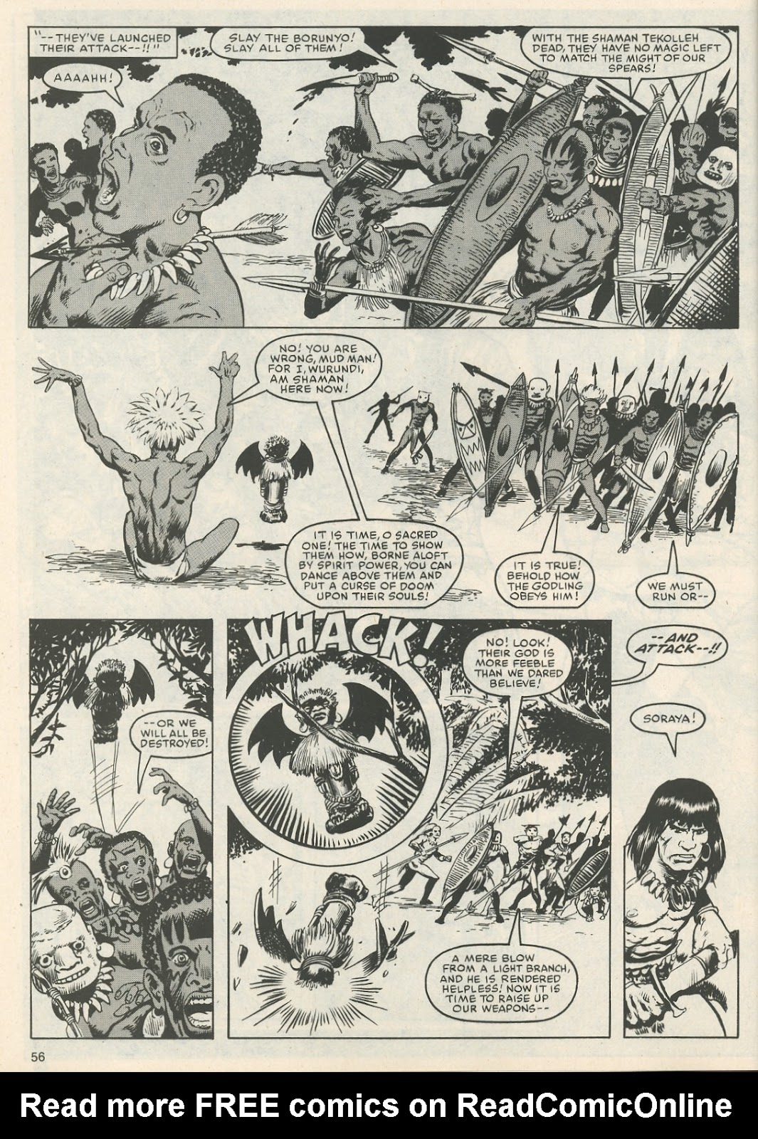 The Savage Sword Of Conan Issue #111 #112 - English 59