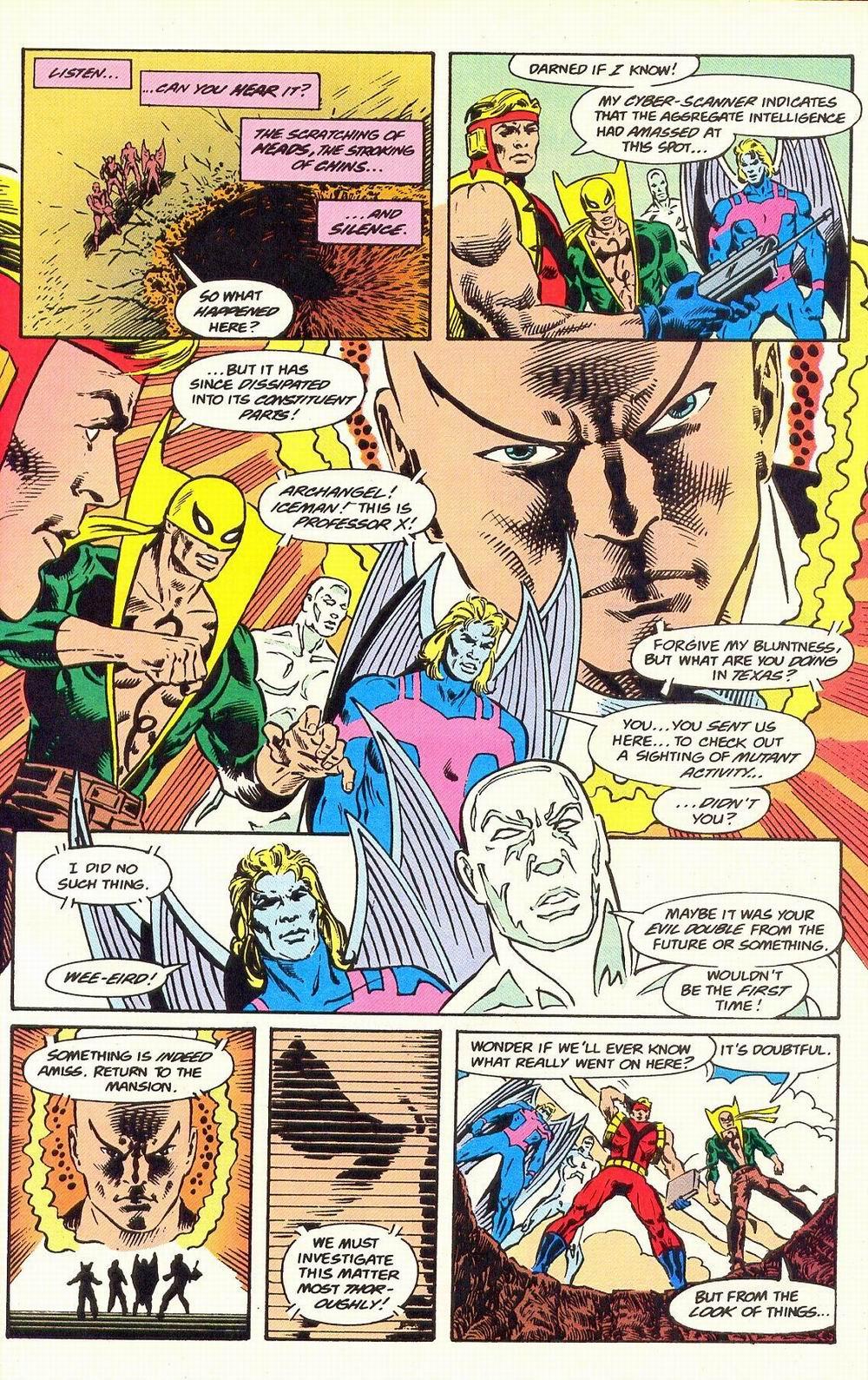 Read online Secret Defenders comic -  Issue #19 - 22