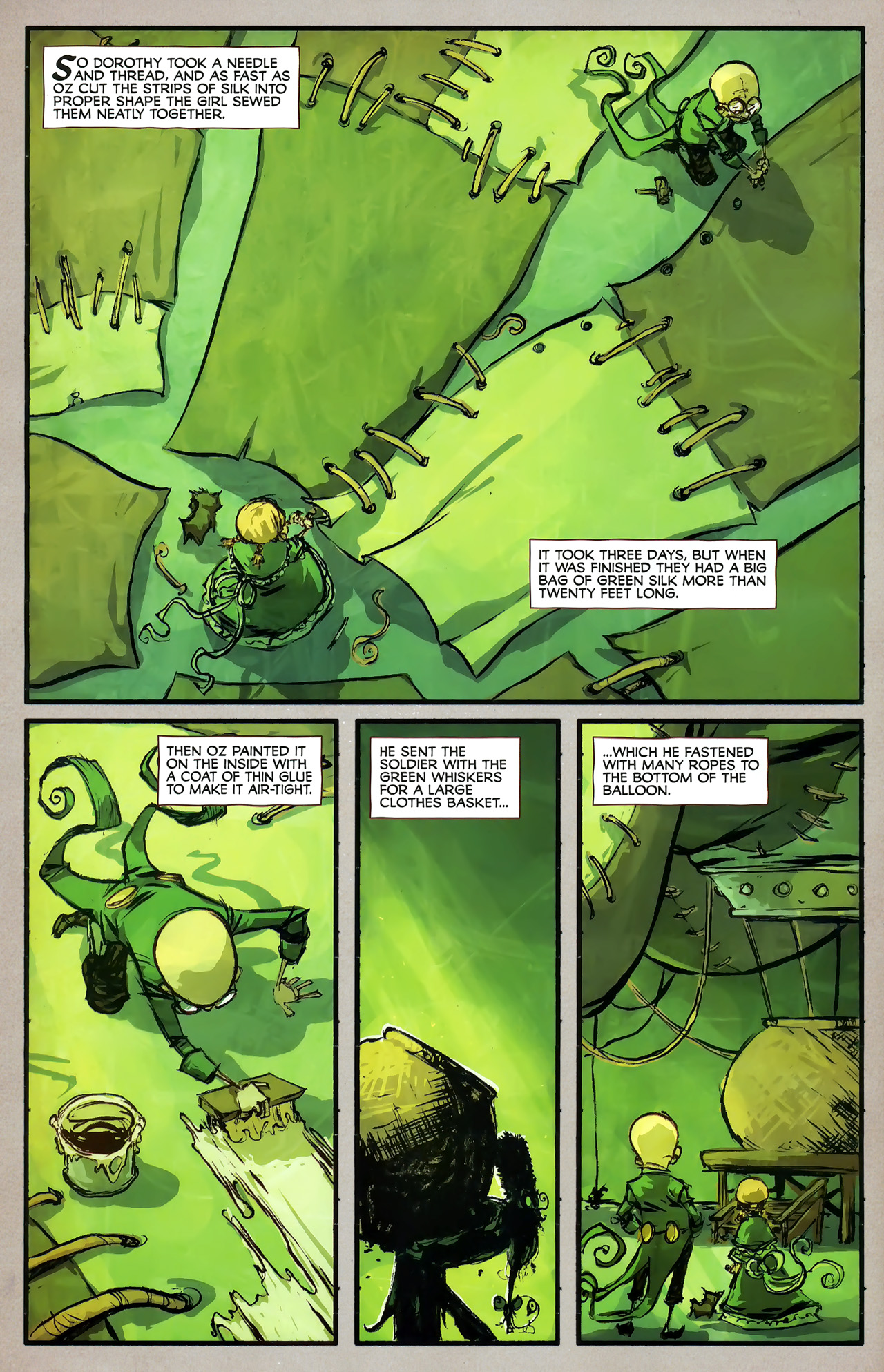 Read online The Wonderful Wizard of Oz comic -  Issue #7 - 10