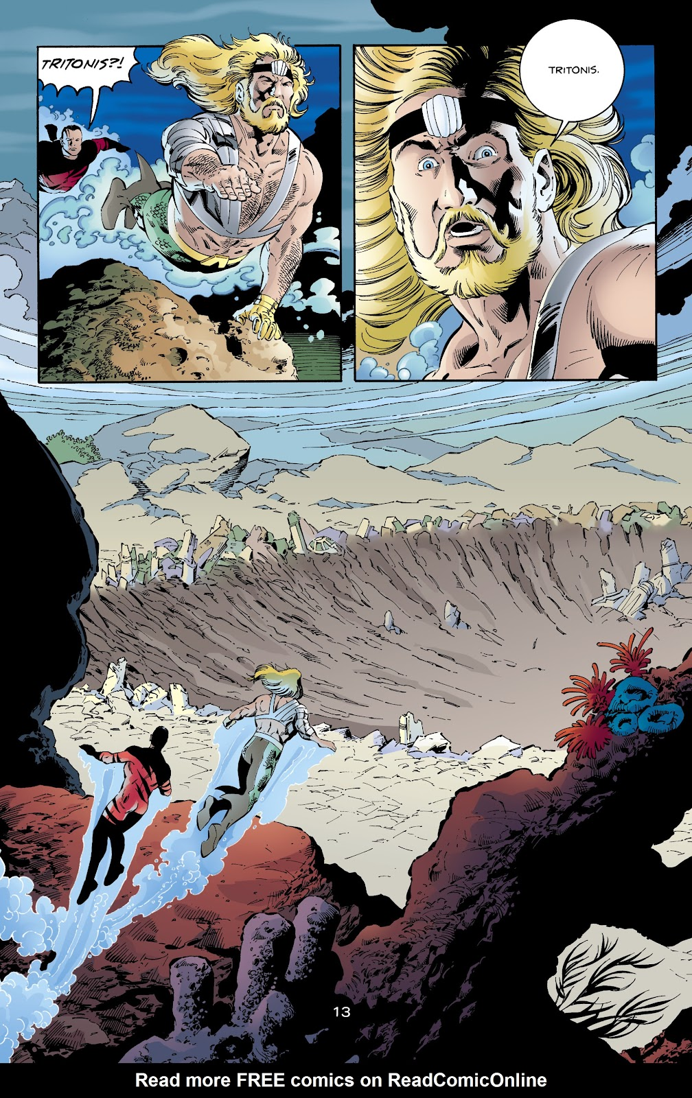 Aquaman (1994) Issue #65 #71 - English 13