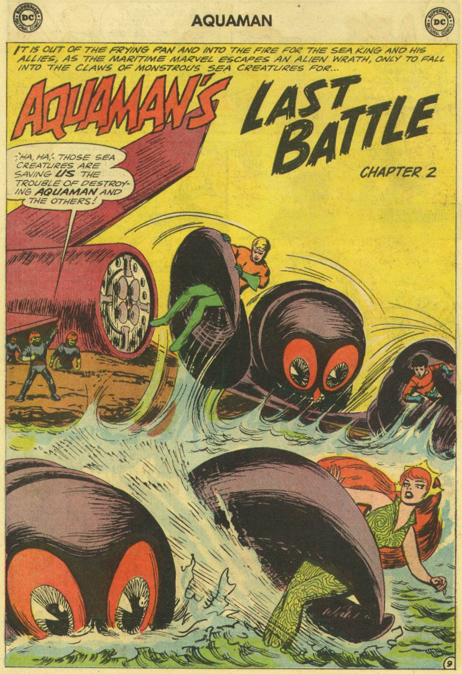 Aquaman (1962) Issue #16 #16 - English 14