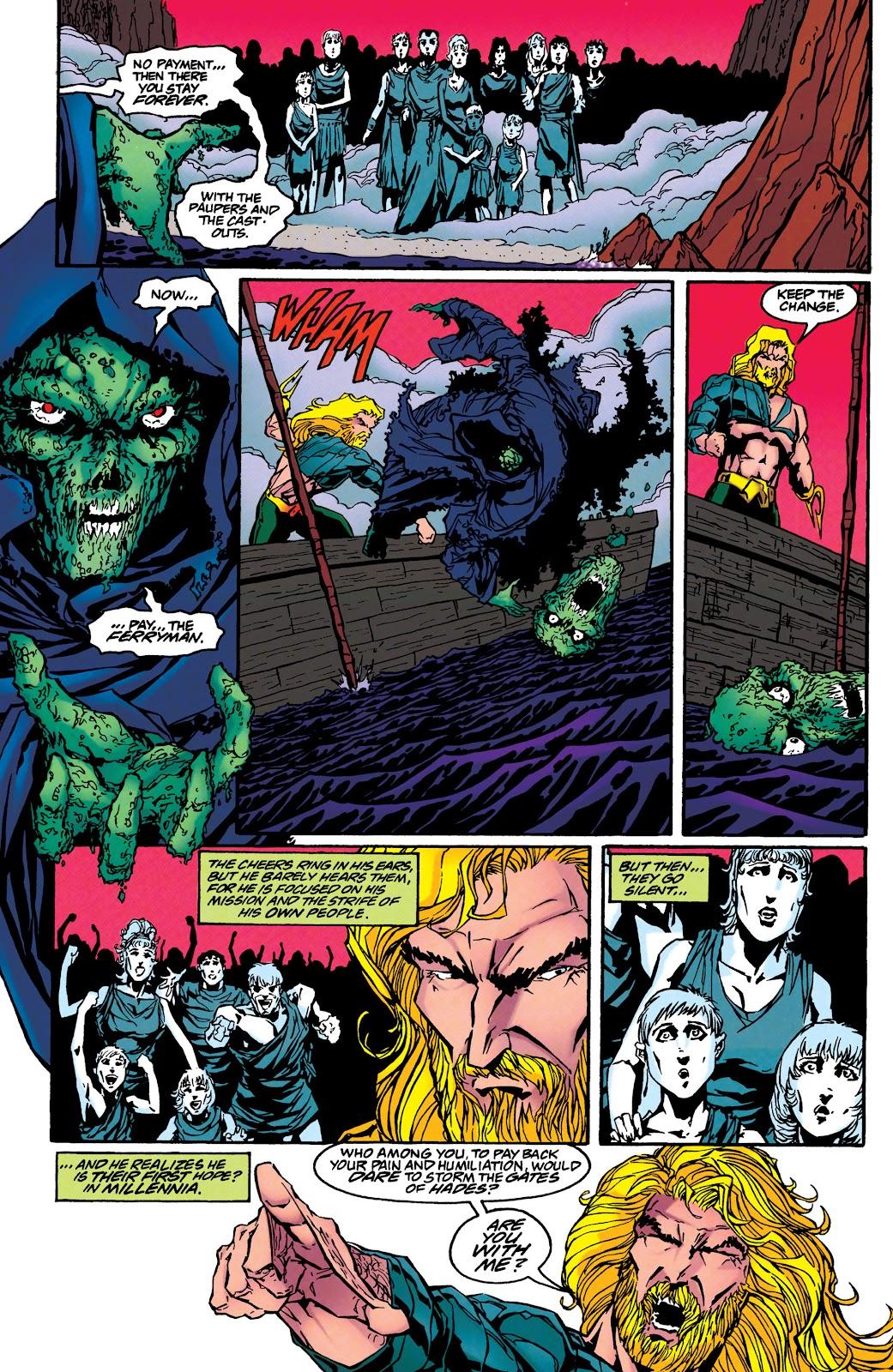 Aquaman (1994) Issue #46 #52 - English 5