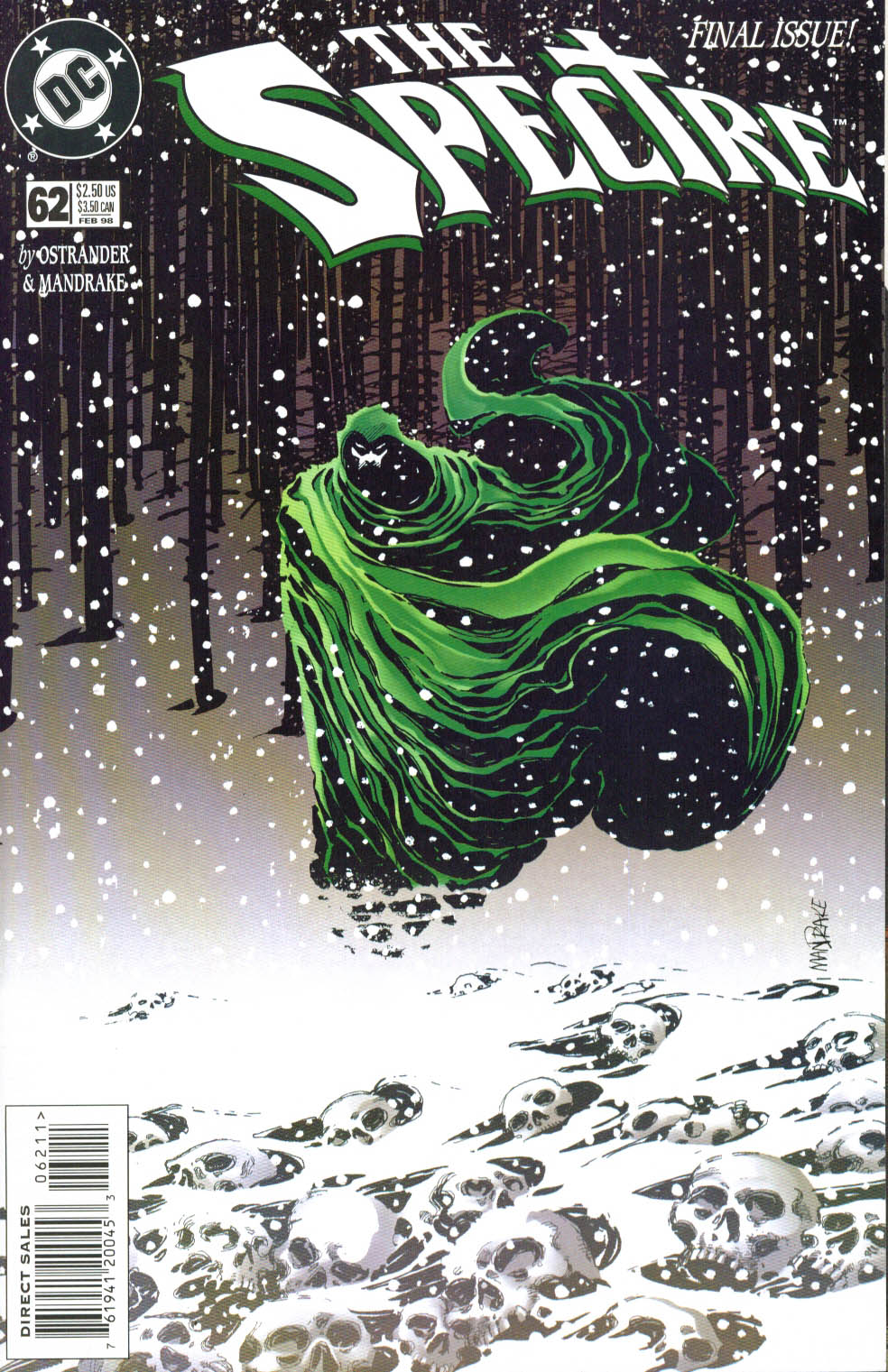 The Spectre (1992) #62 #64 - English 1