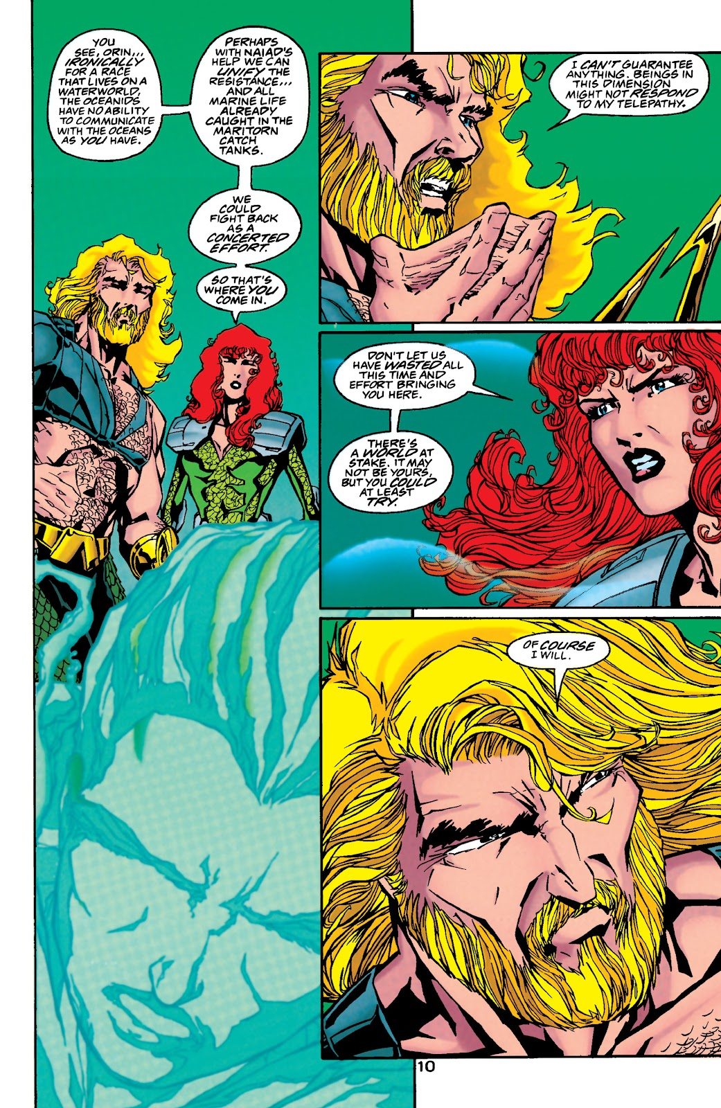 Aquaman (1994) Issue #48 #54 - English 10