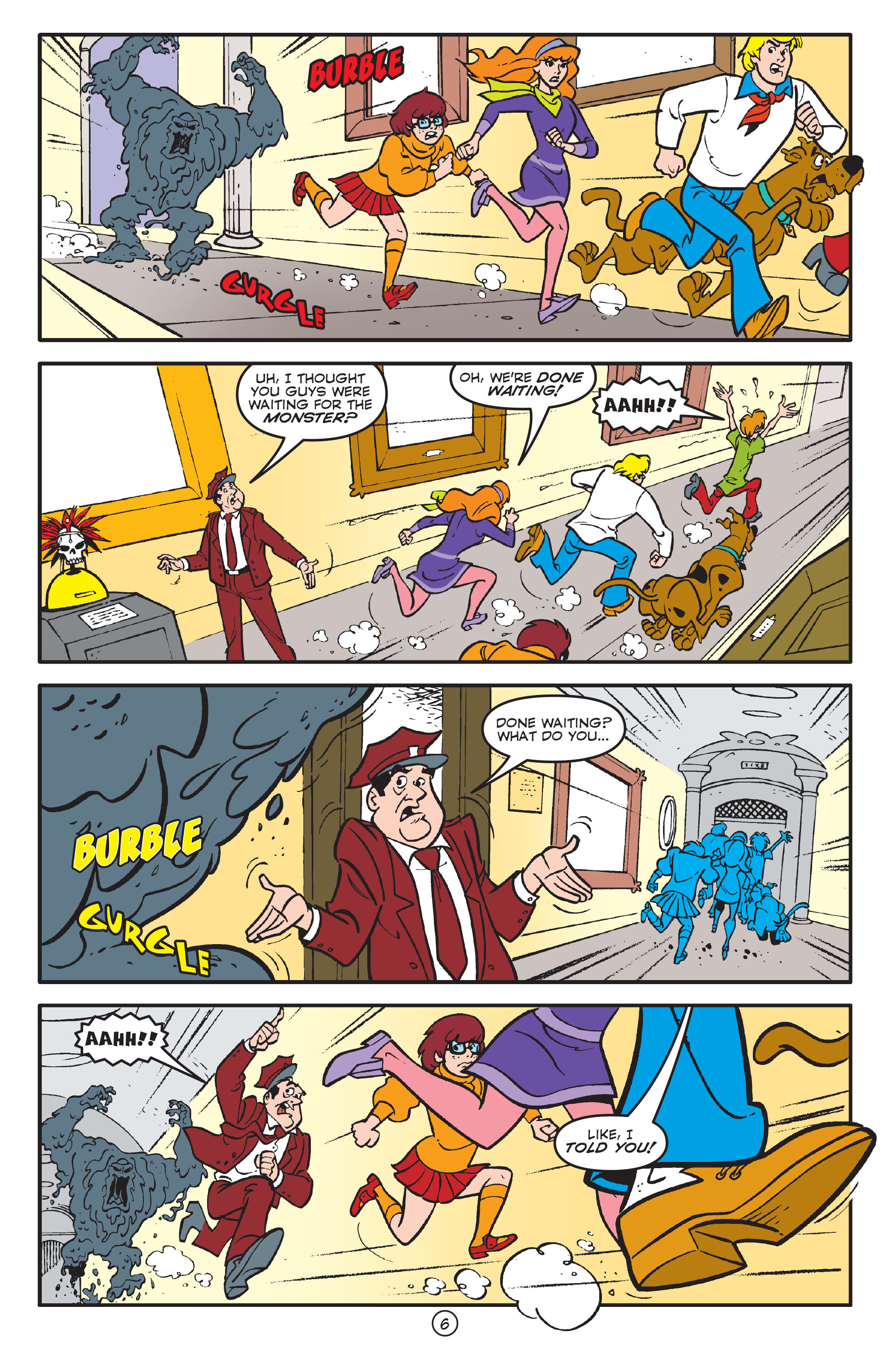 Read online Scooby-Doo: Where Are You? comic -  Issue #58 - 17