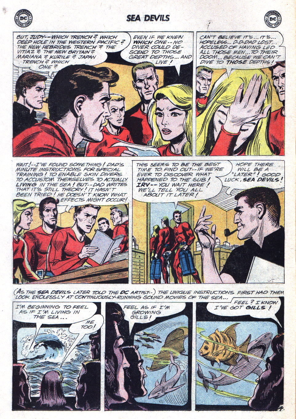 Read online Sea Devils comic -  Issue #15 - 6