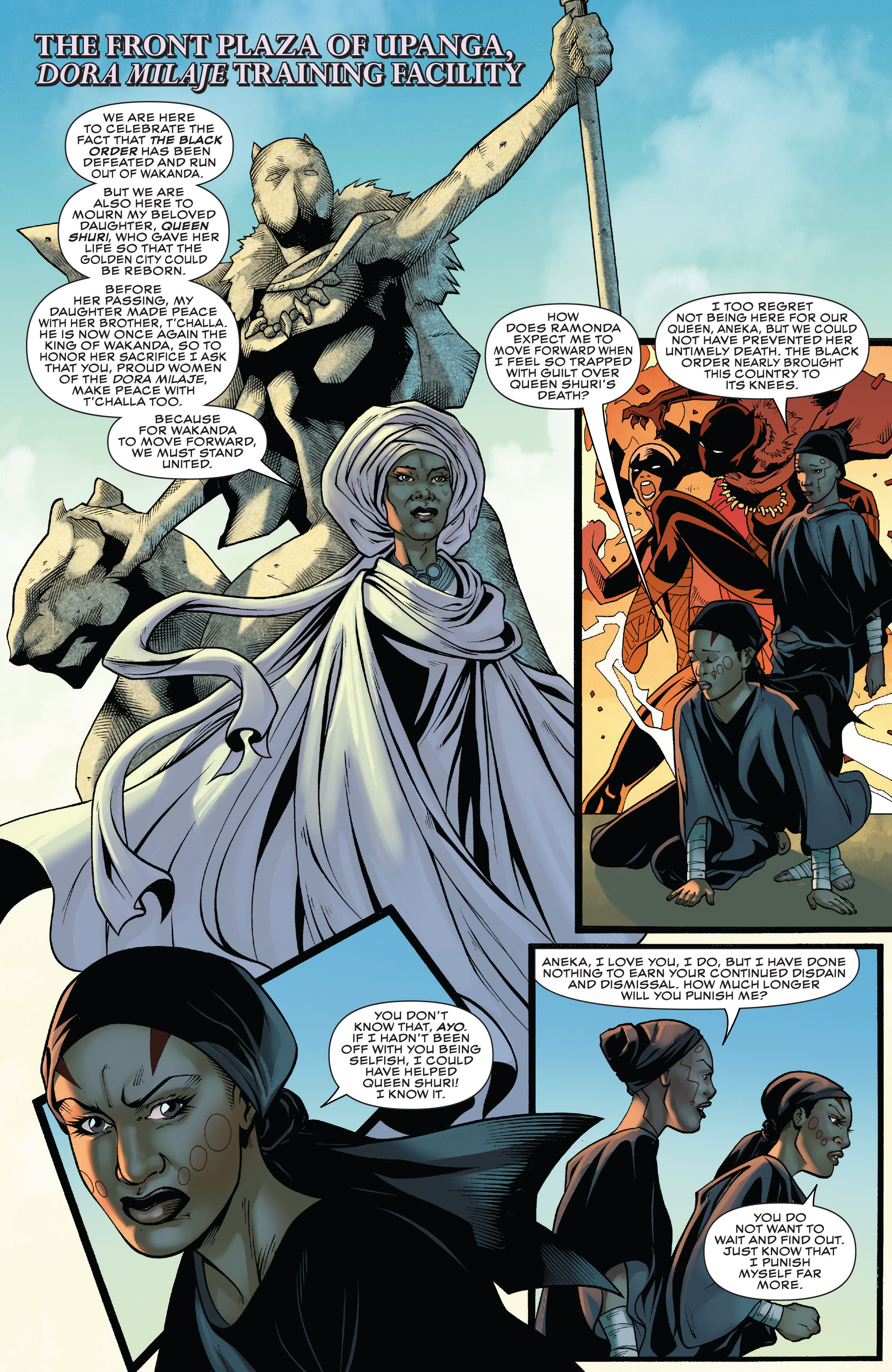 Read online Black Panther: World of Wakanda comic -  Issue #4 - 4