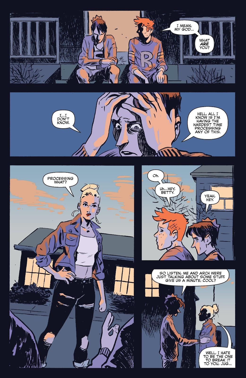 Jughead The Hunger Issue #0 #1 - English 24