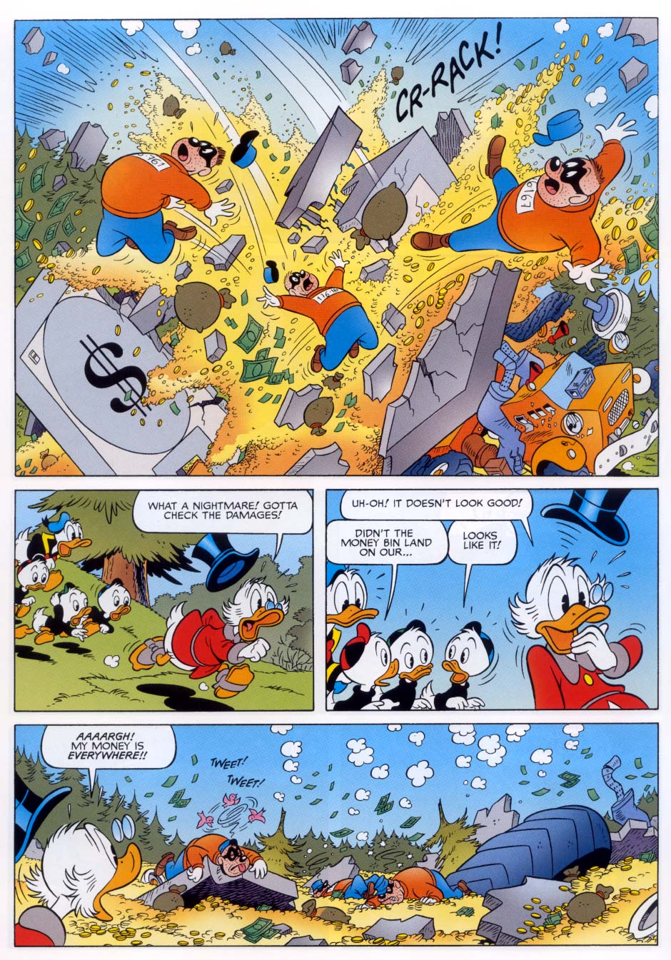 Uncle Scrooge (1953) Issue #332 #332 - English 64