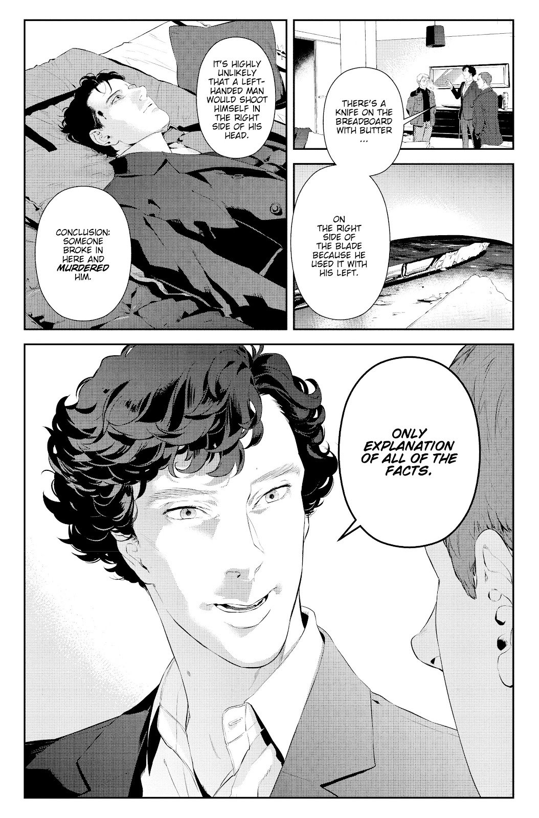 Sherlock: The Blind Banker Issue #2 #2 - English 15