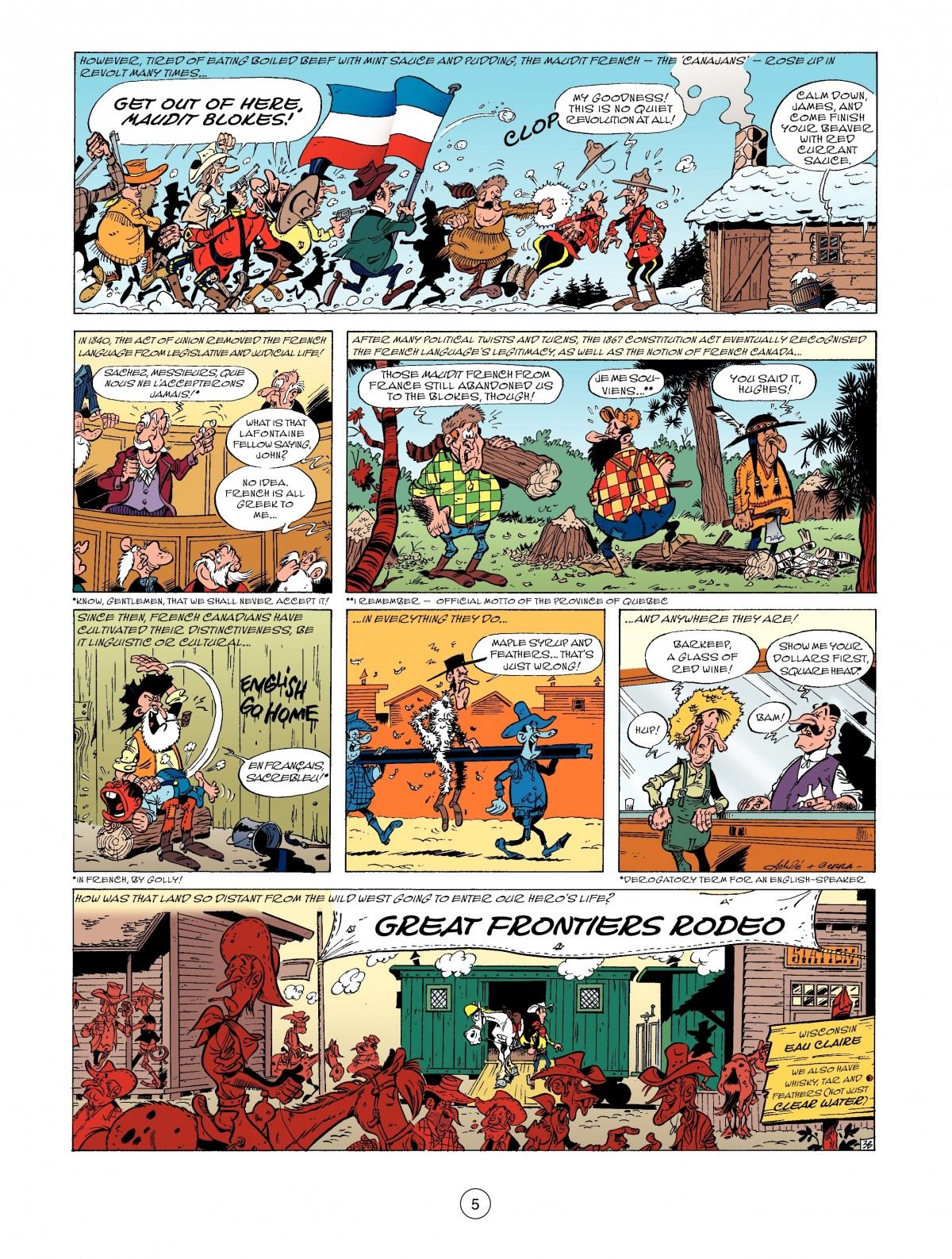 A Lucky Luke Adventure 52 Page 6