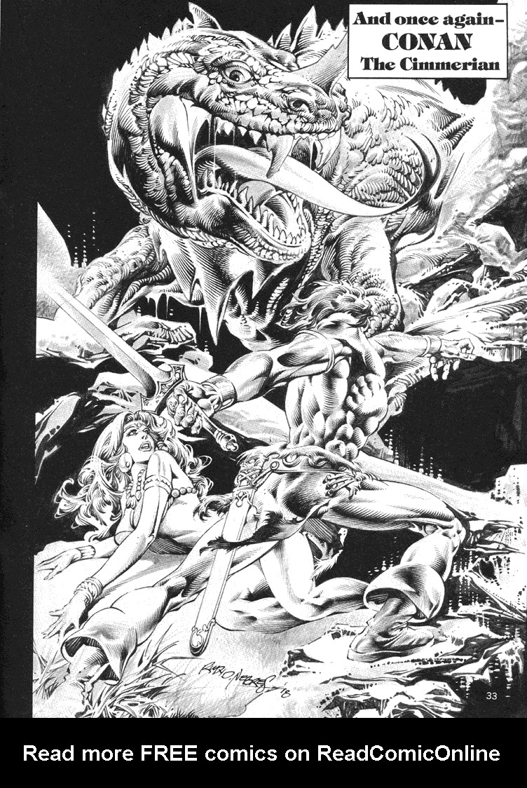 The Savage Sword Of Conan Issue #39 #40 - English 32