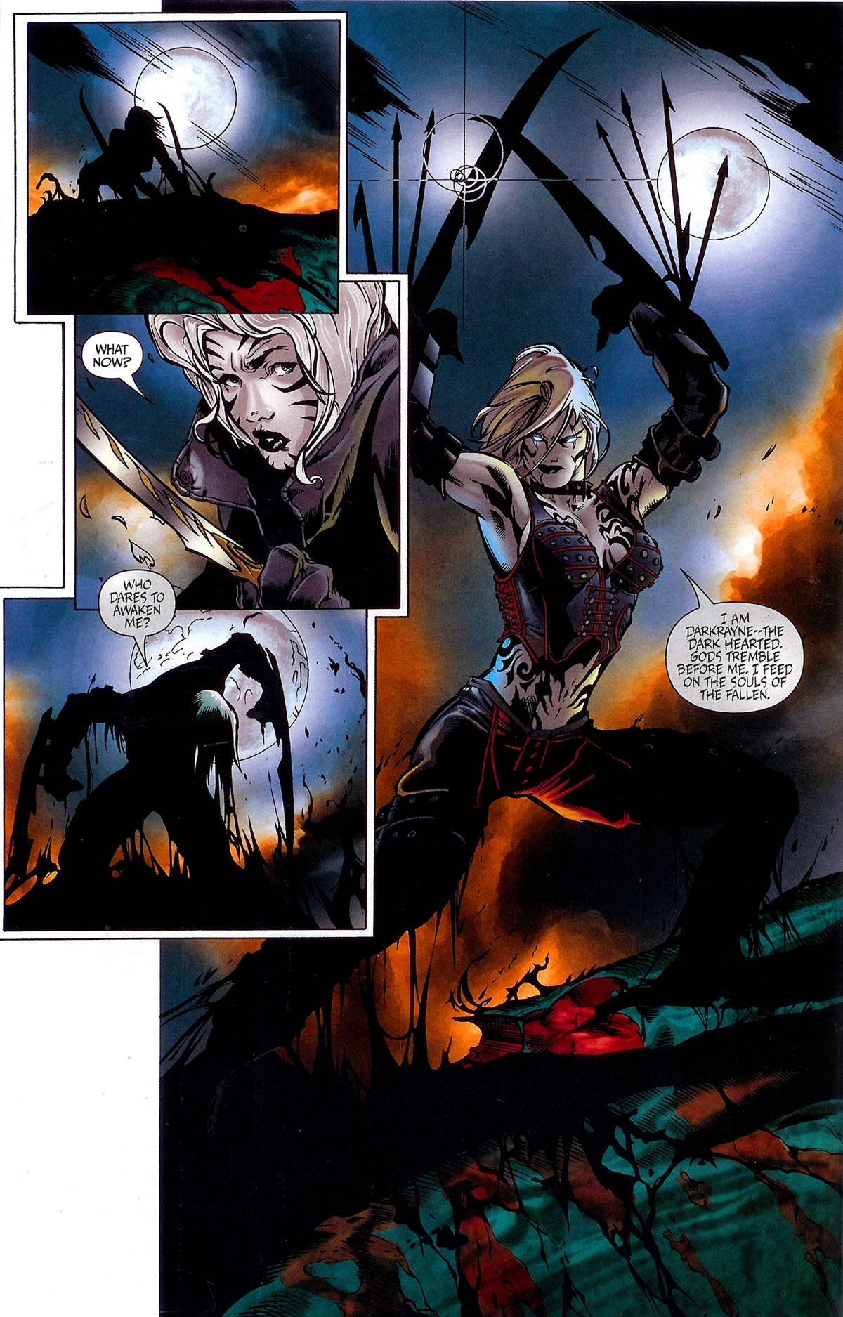 Read online BloodRayne: Dark Soul comic -  Issue # Full - 14