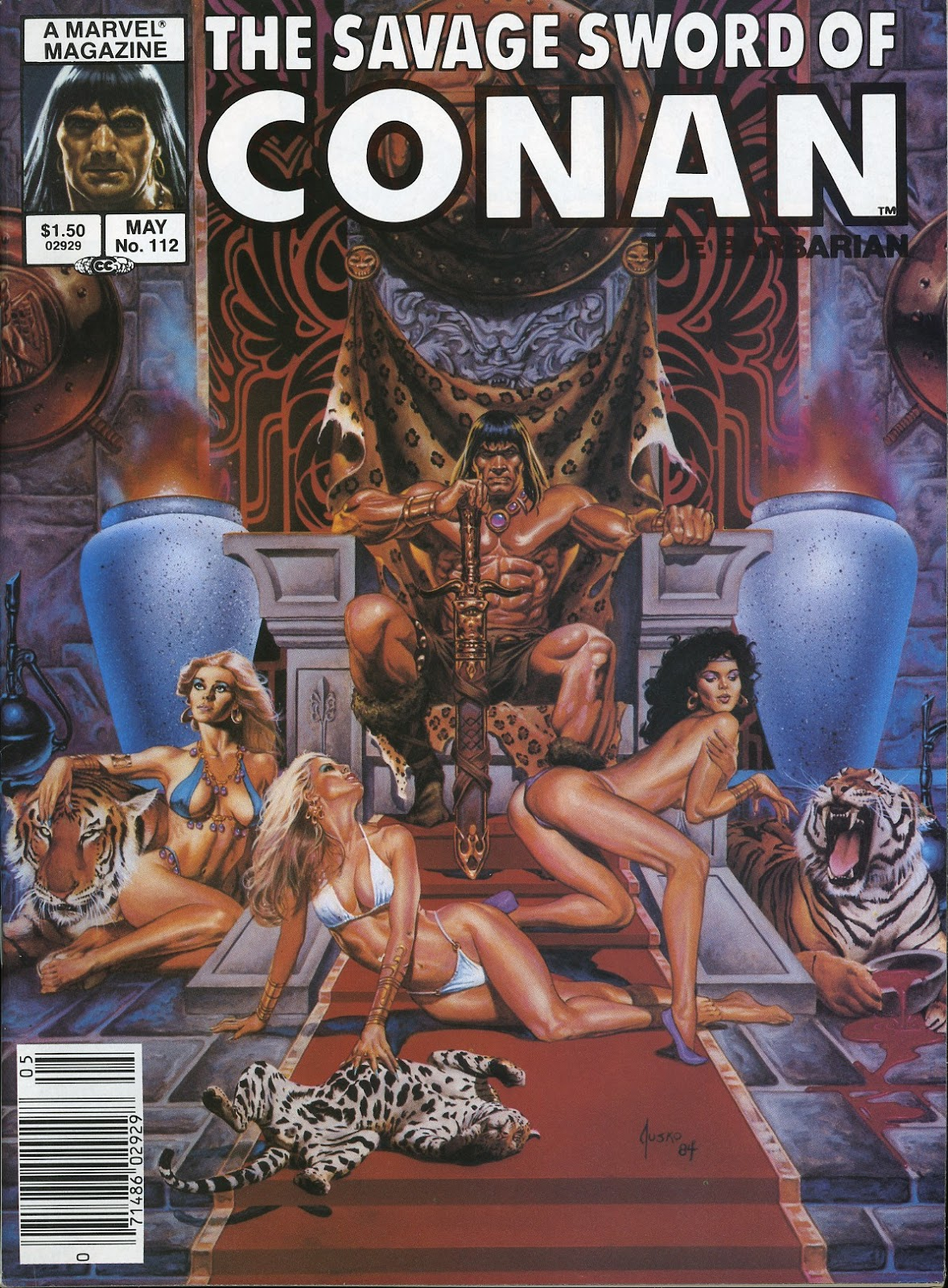 The Savage Sword Of Conan Issue #112 #113 - English 1