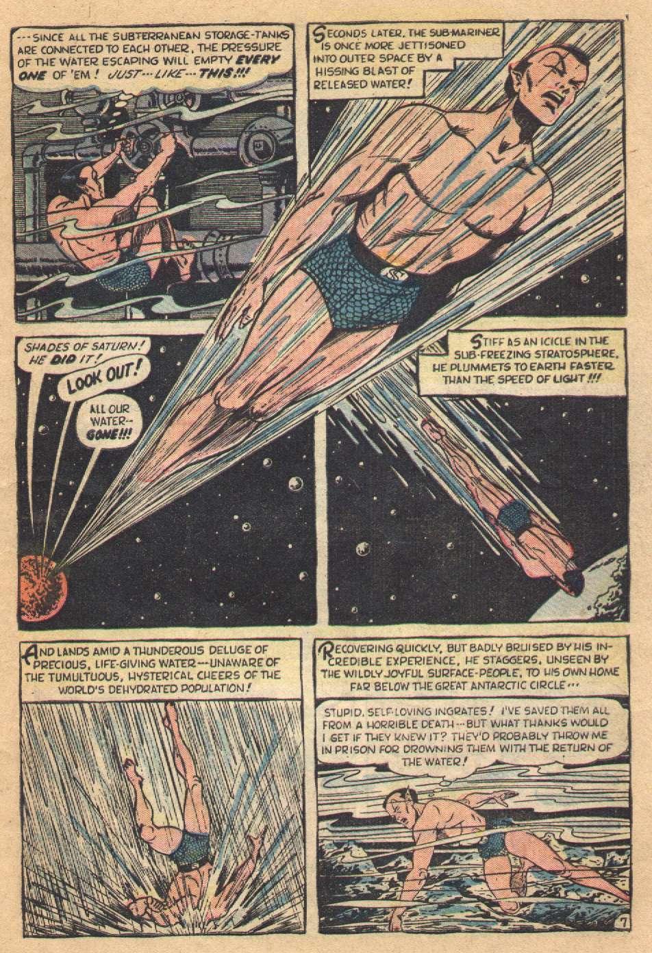 Sub-Mariner Comics #36 #36 - English 9