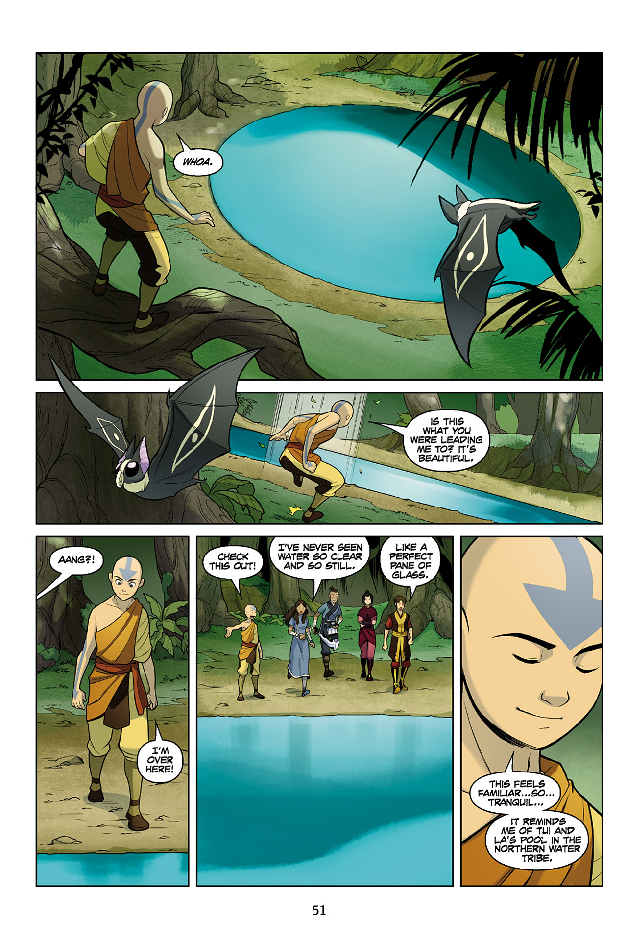 Read online Nickelodeon Avatar: The Last Airbender - The Search comic -  Issue # Part 2 - 52