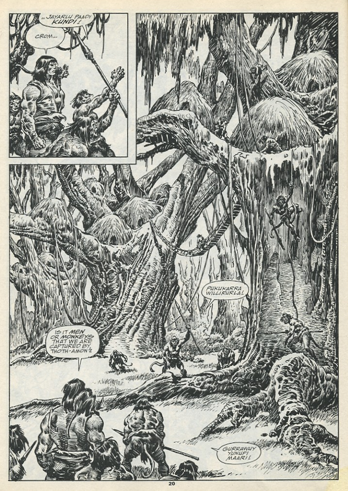 The Savage Sword Of Conan Issue #193 #194 - English 22