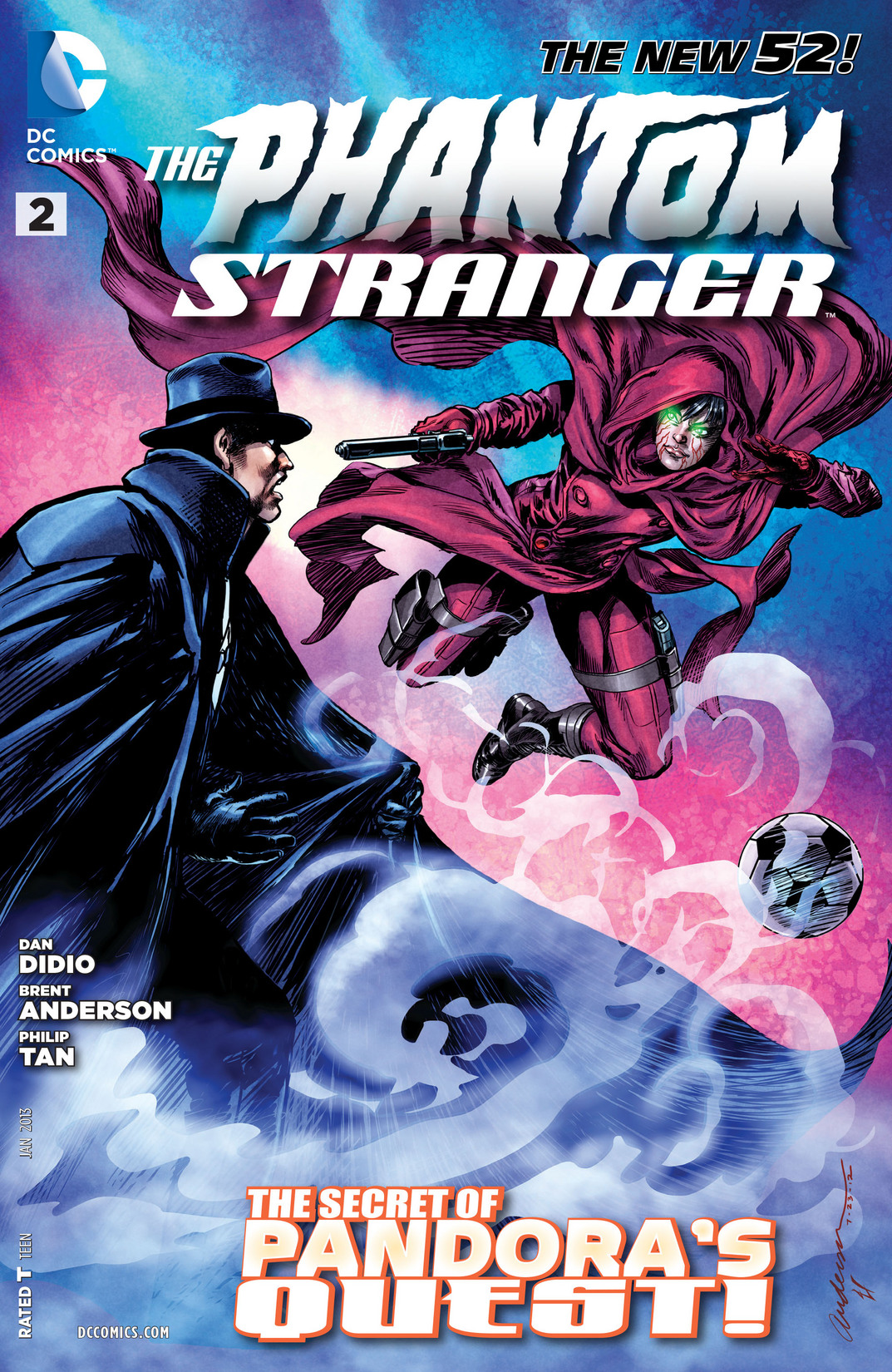 The Phantom Stranger (2012) issue 2 - Page 1