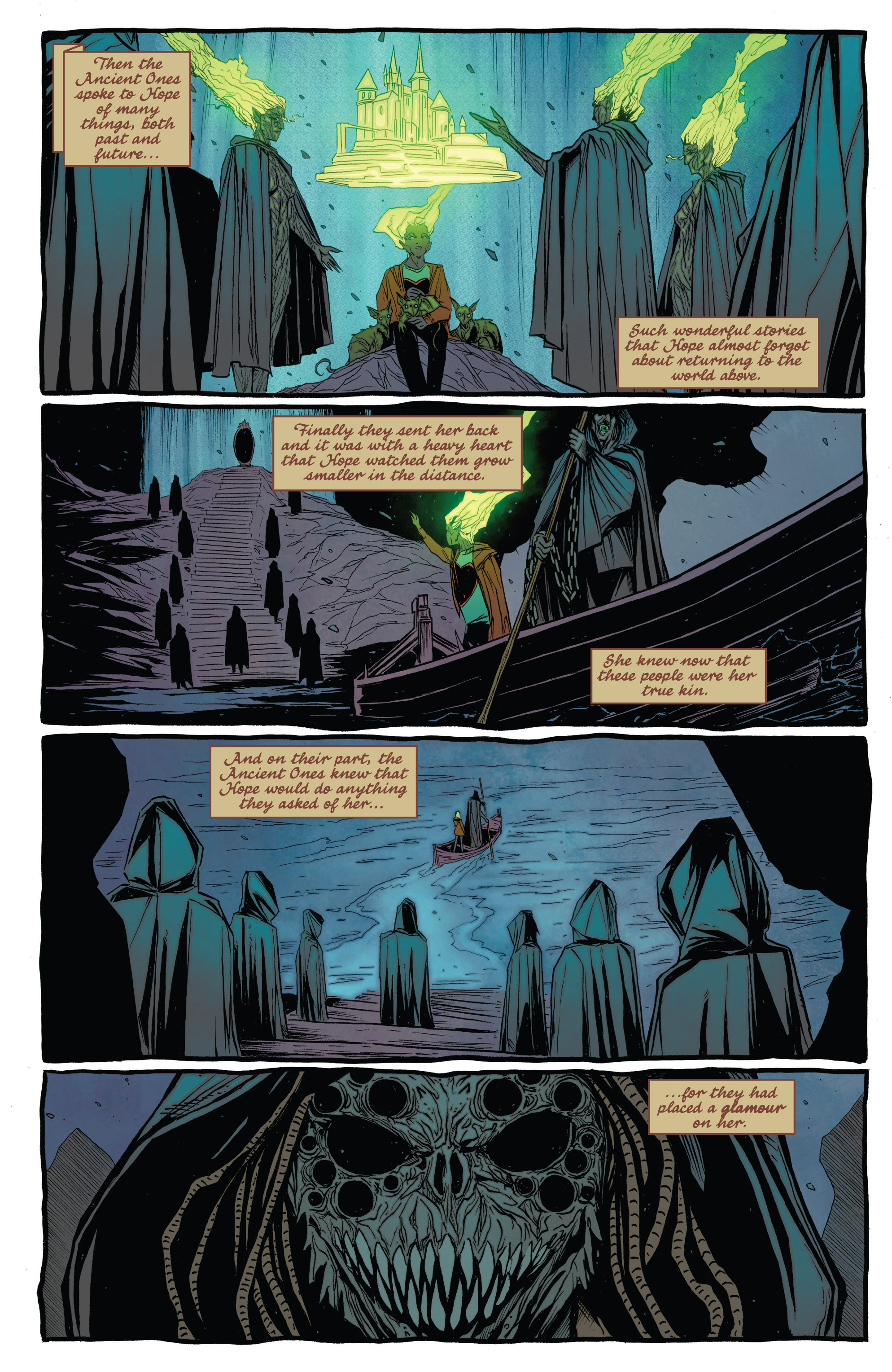 Read online The Darkness (2007) comic -  Issue #113 - 18