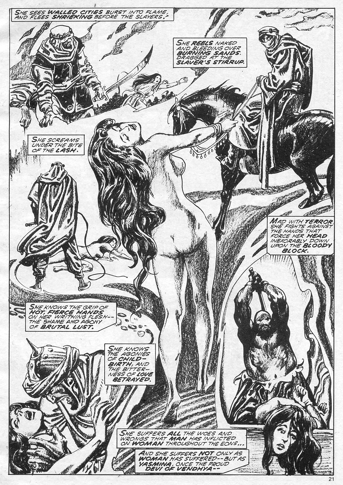 The Savage Sword Of Conan Issue #18 #19 - English 21