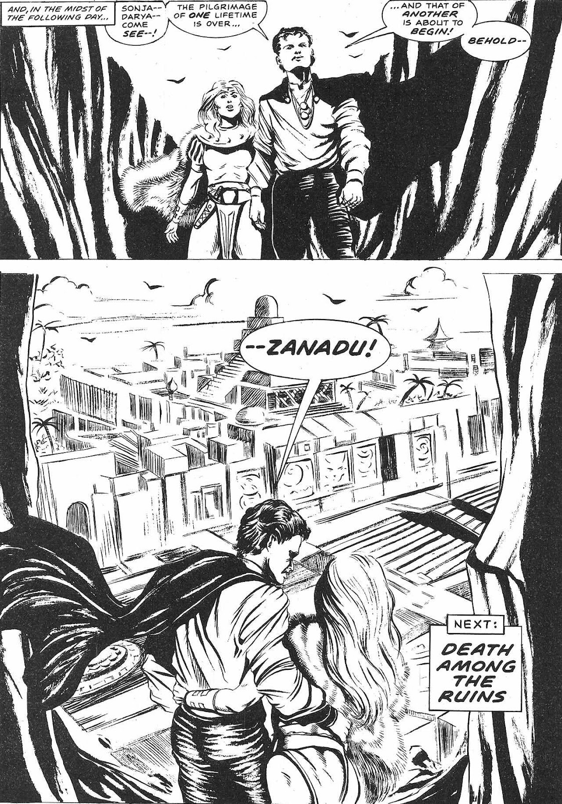 The Savage Sword Of Conan Issue #209 #210 - English 62