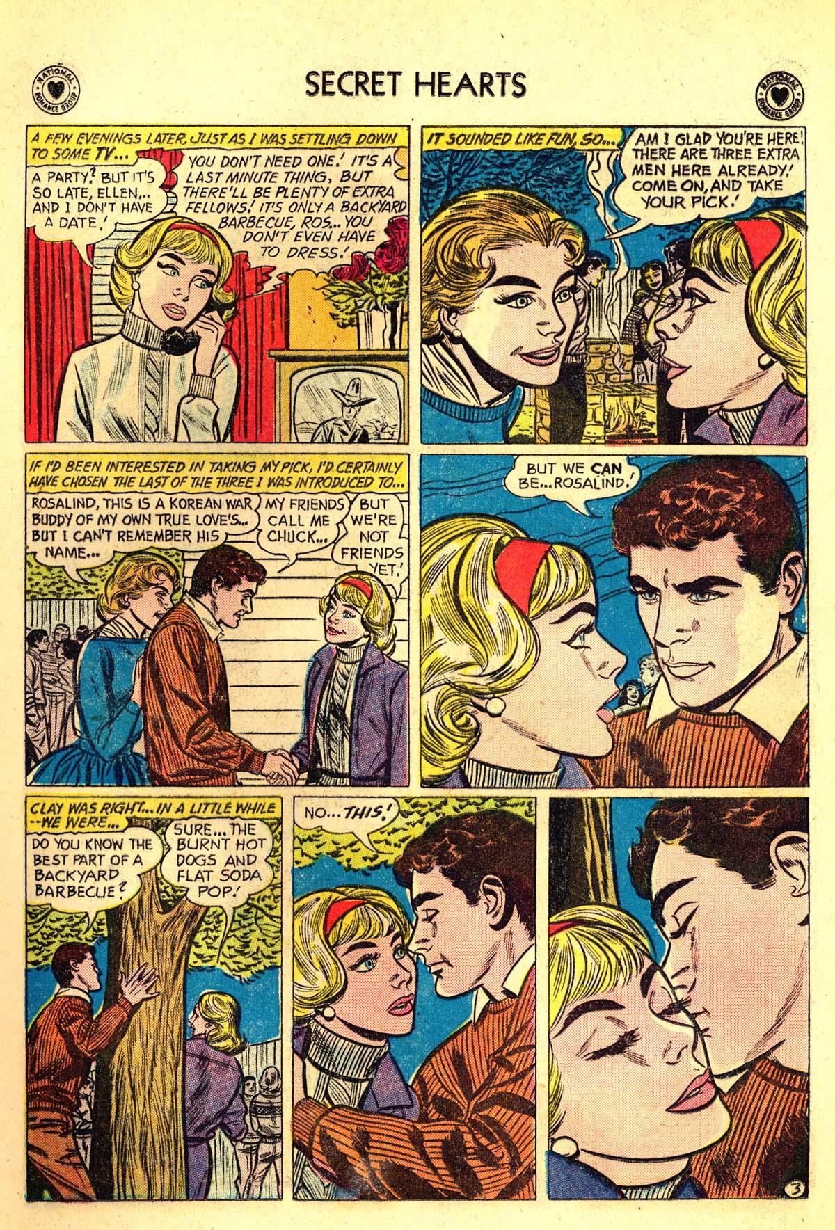 Read online Secret Hearts comic -  Issue #64 - 5