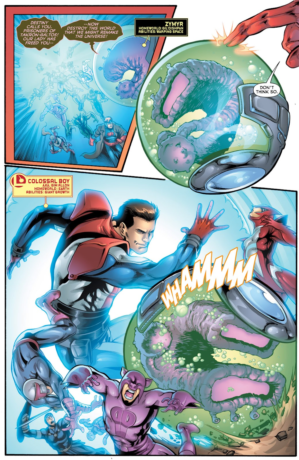 Legion of Super-Heroes (2010) Issue #16 #17 - English 5