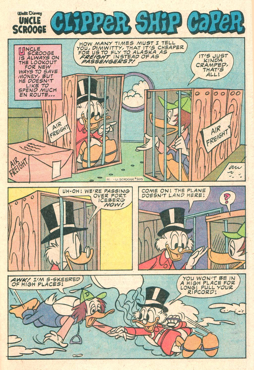 Uncle Scrooge (1953) Issue #205 #205 - English 25