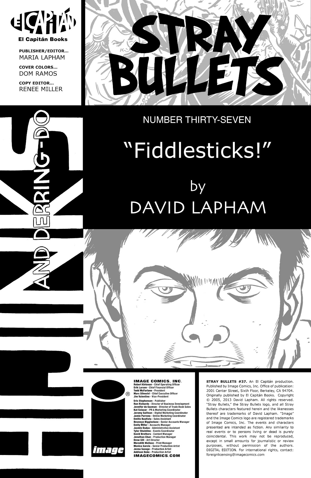 Stray Bullets Issue #37 #37 - English 2