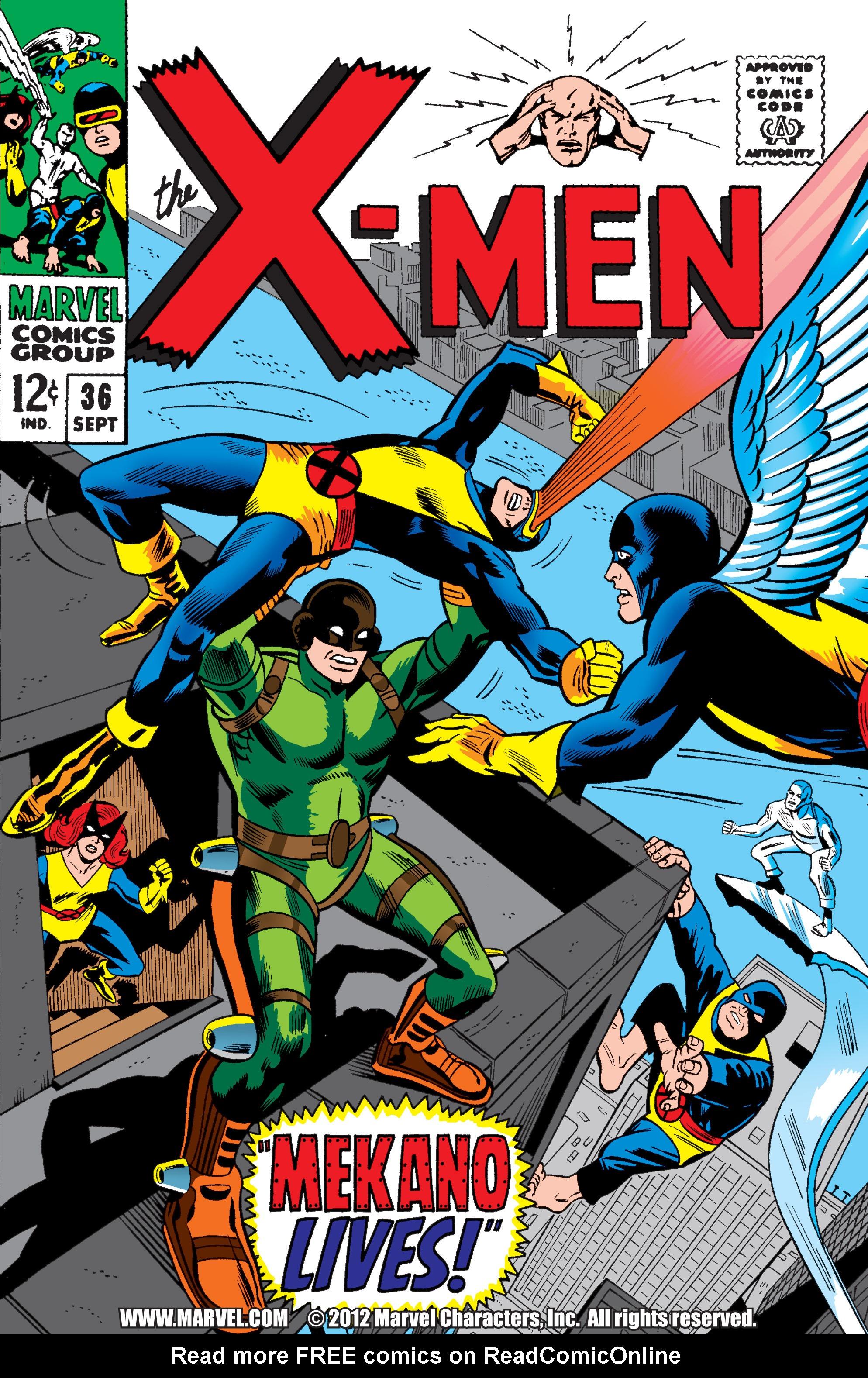 Uncanny X-Men (1963) 36 Page 1